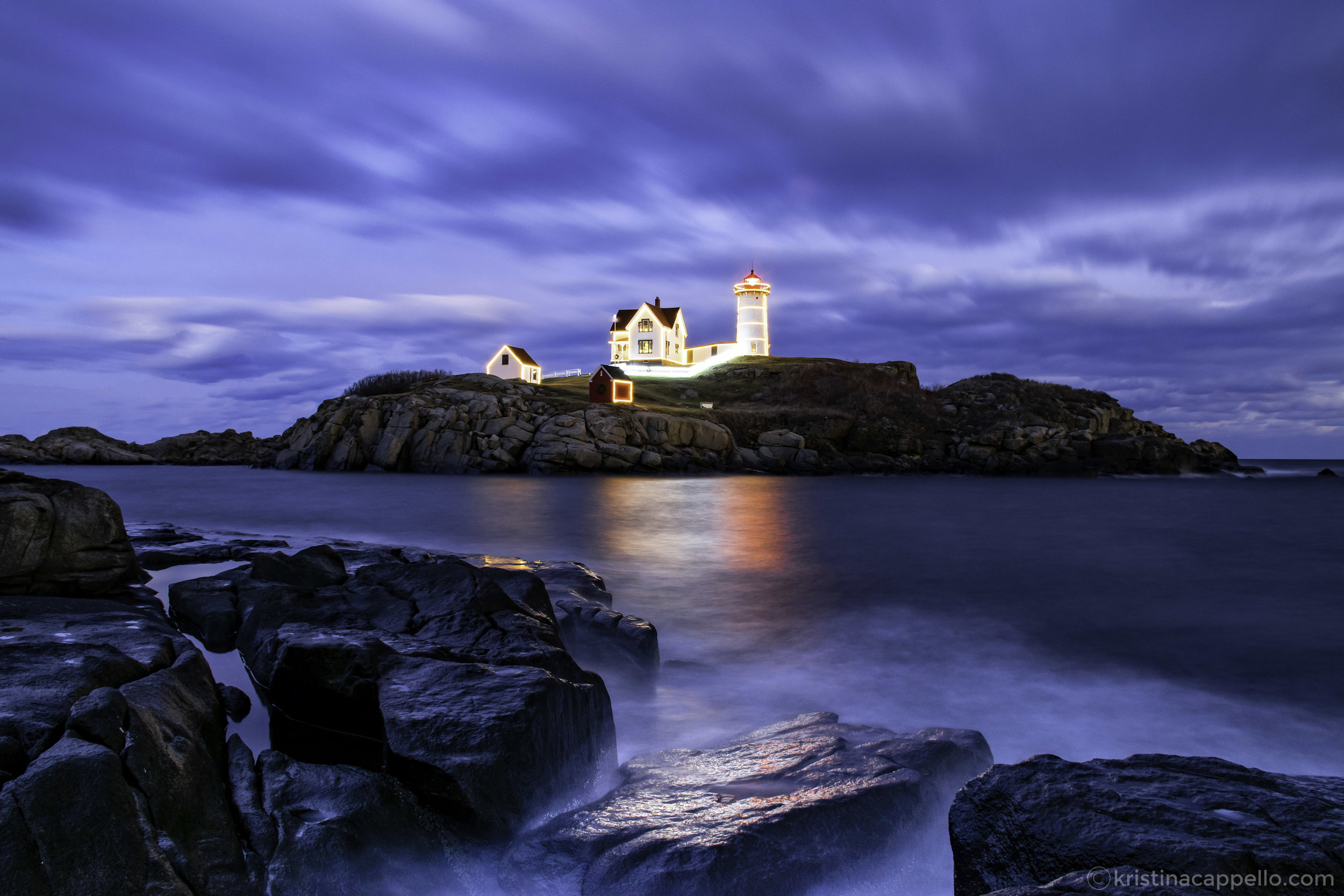 Nubble Lighthouse, York Maine