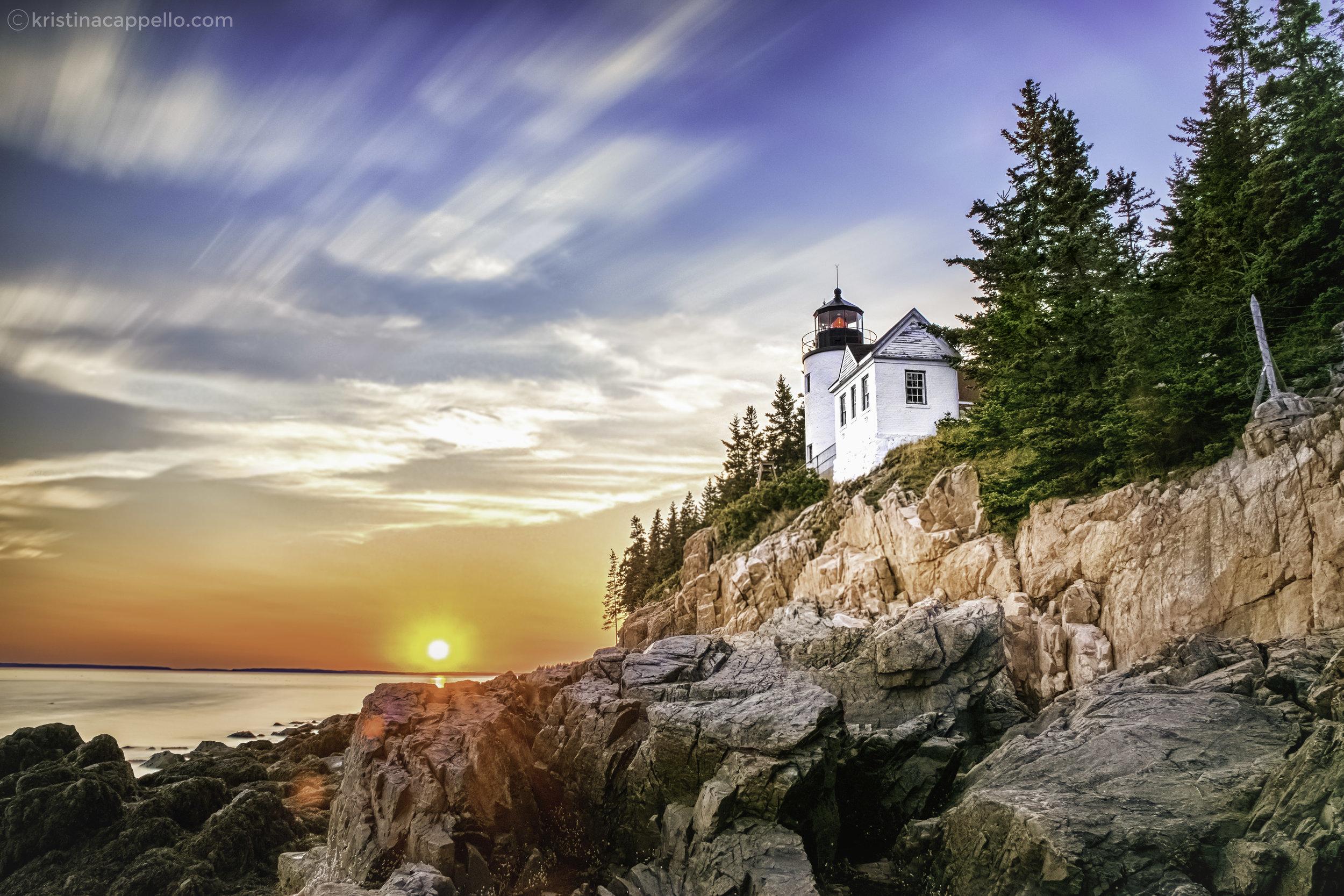 Bass Harbor Lighthouse, Acadia National Park Maine