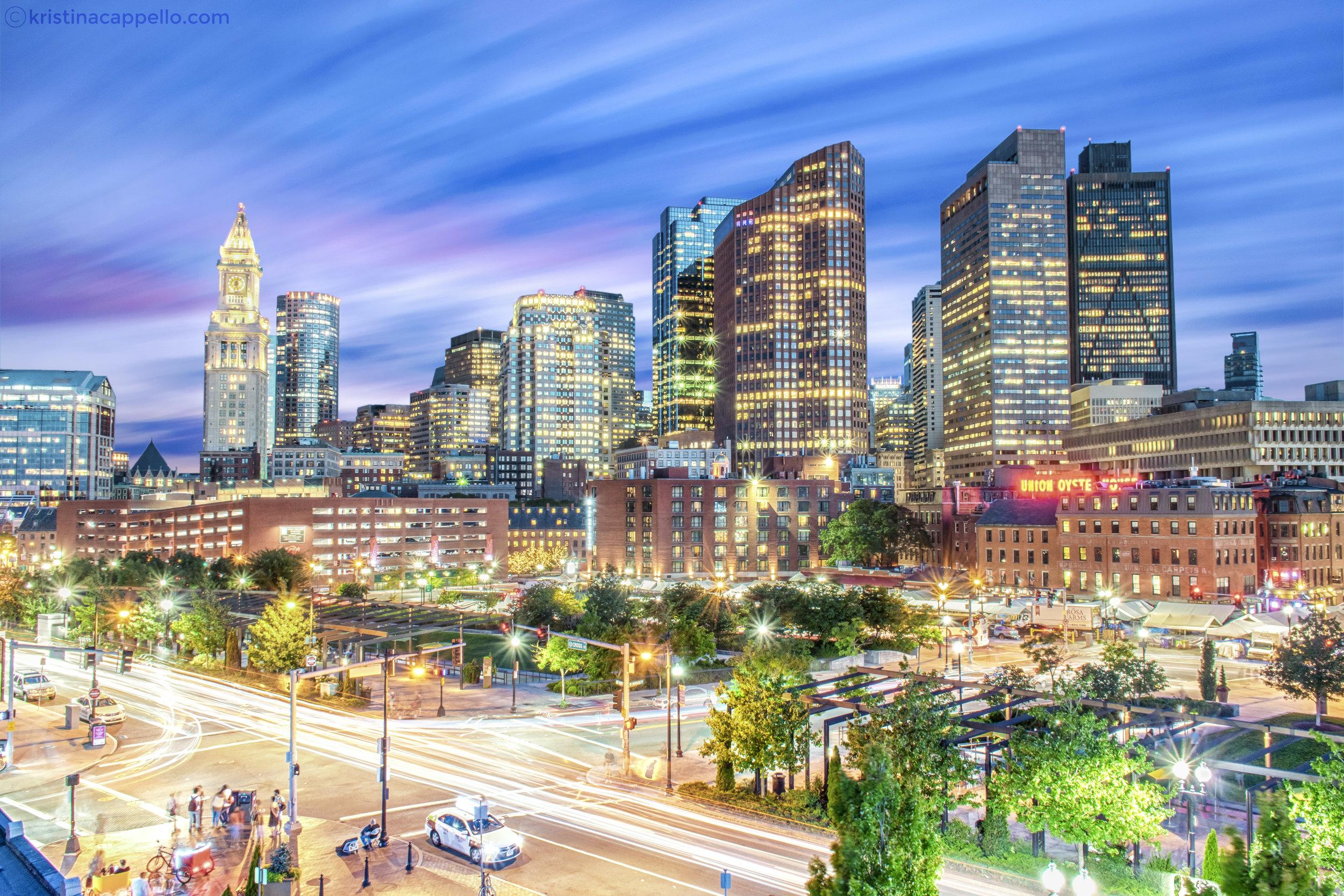 Downtown Boston, Massachusetts