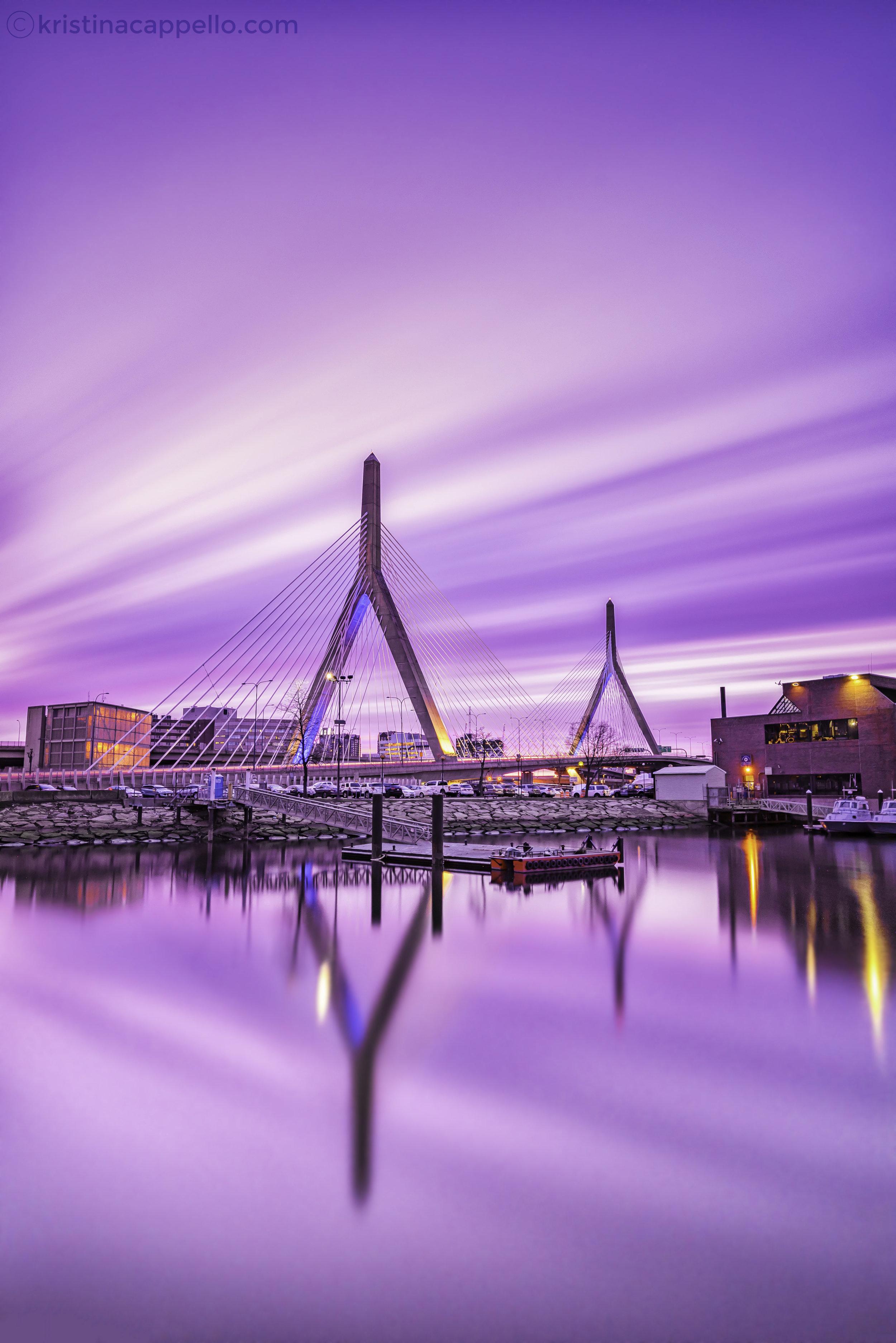 Zakim Bridge, Boston Massachusetts