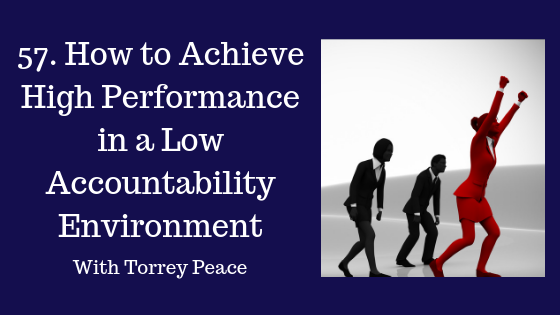 How to Achieve High Performance in a Low Accountability Environment