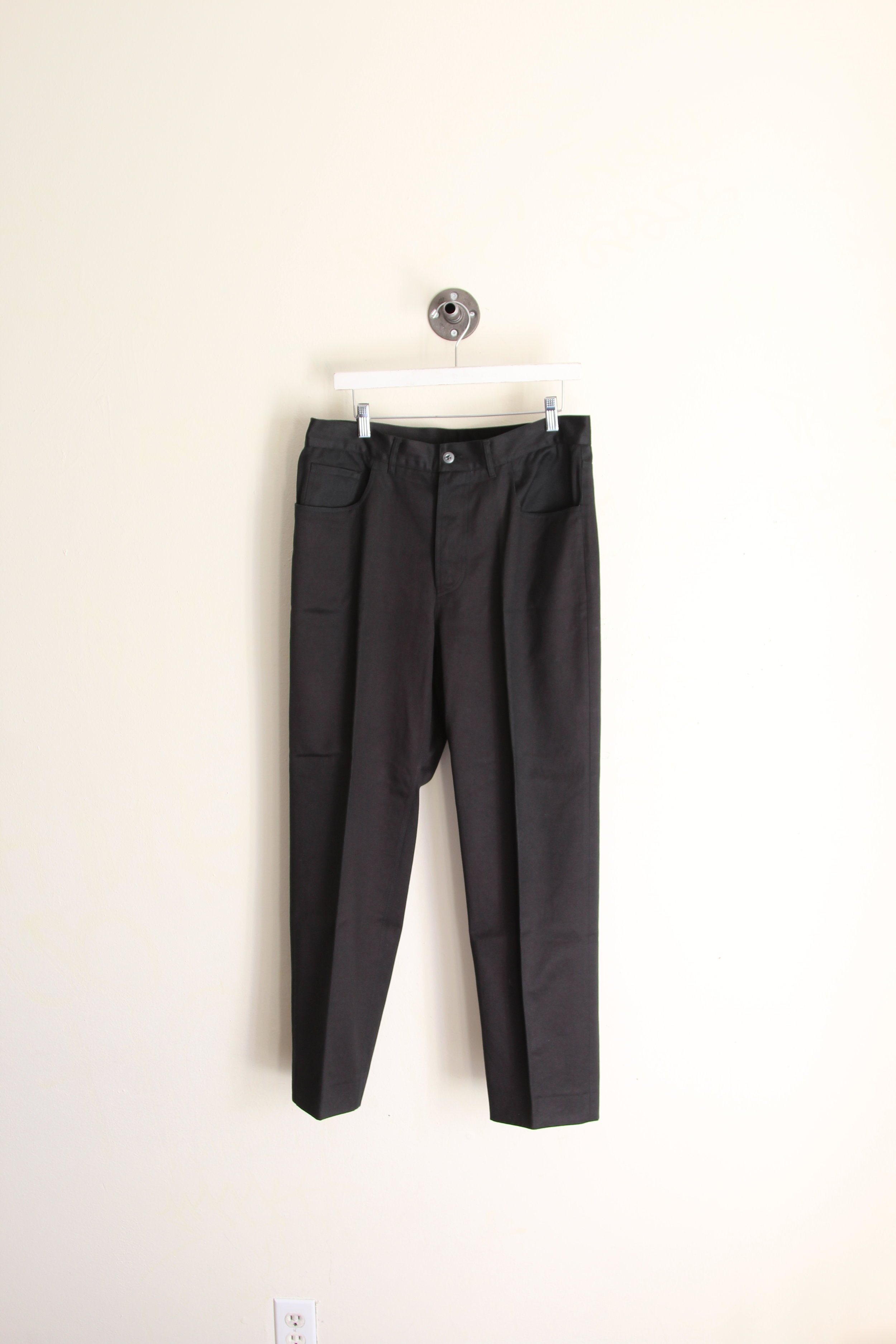 Helmut Lang Early 90's Jean Cut Cropped Trousers