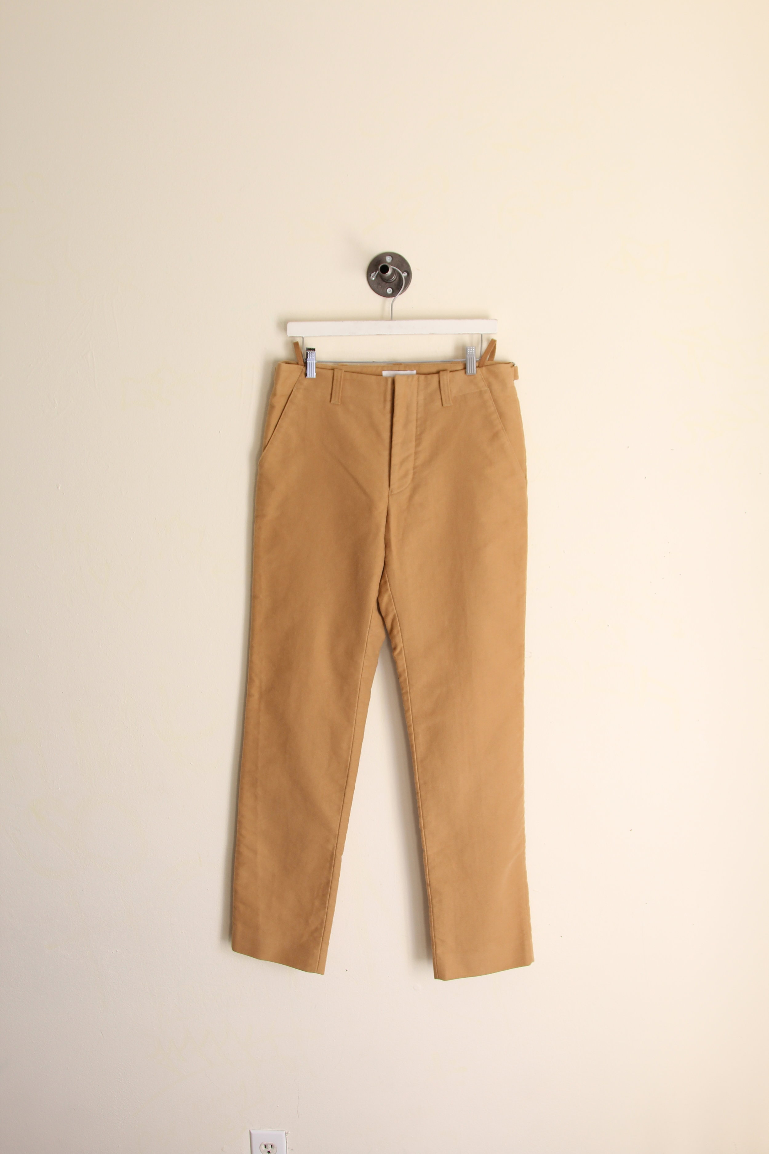 Helmut Lang AW 2004 Sample Moleskin Trousers