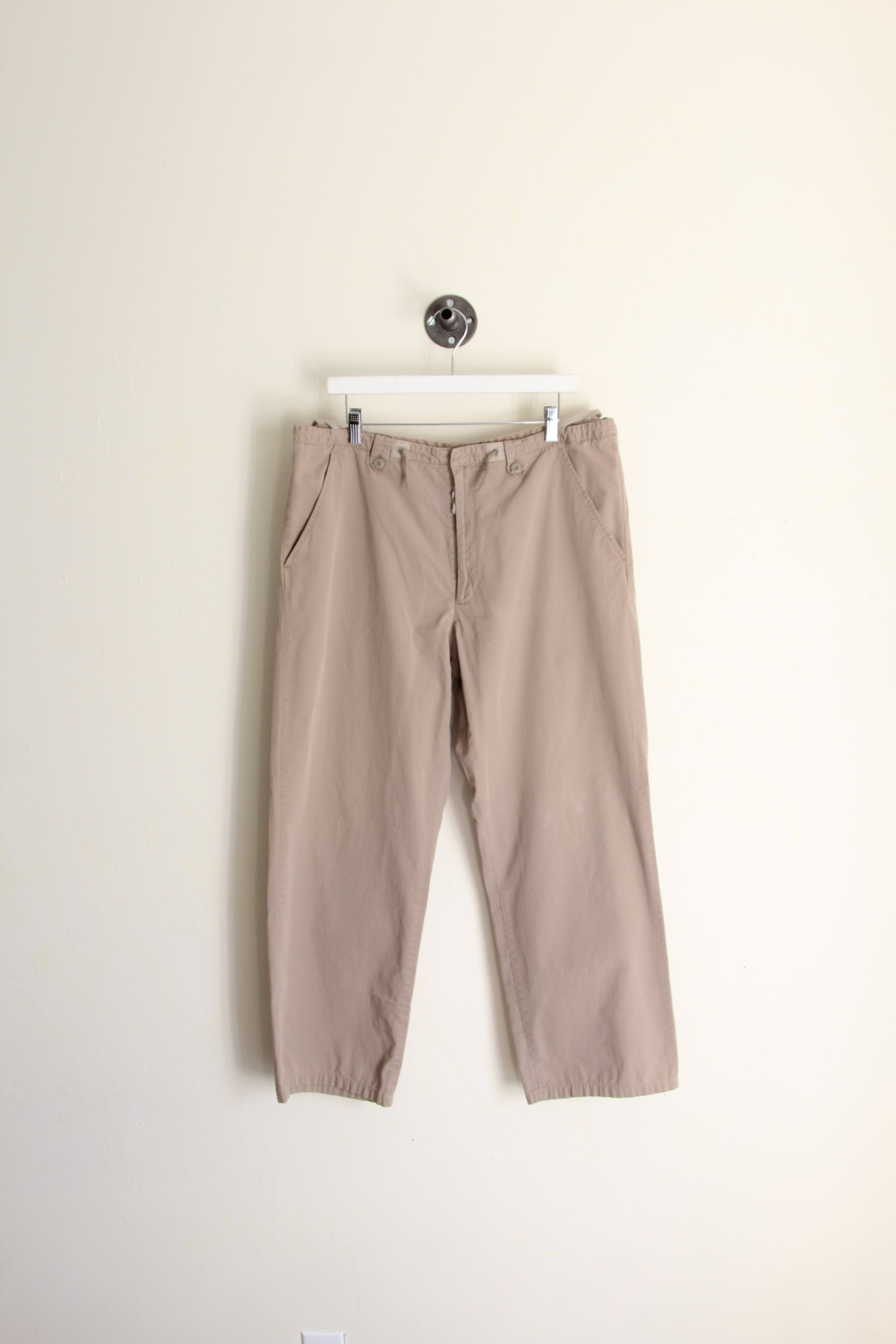 Helmut Lang AW 1999 Cropped Drawstring Trouser