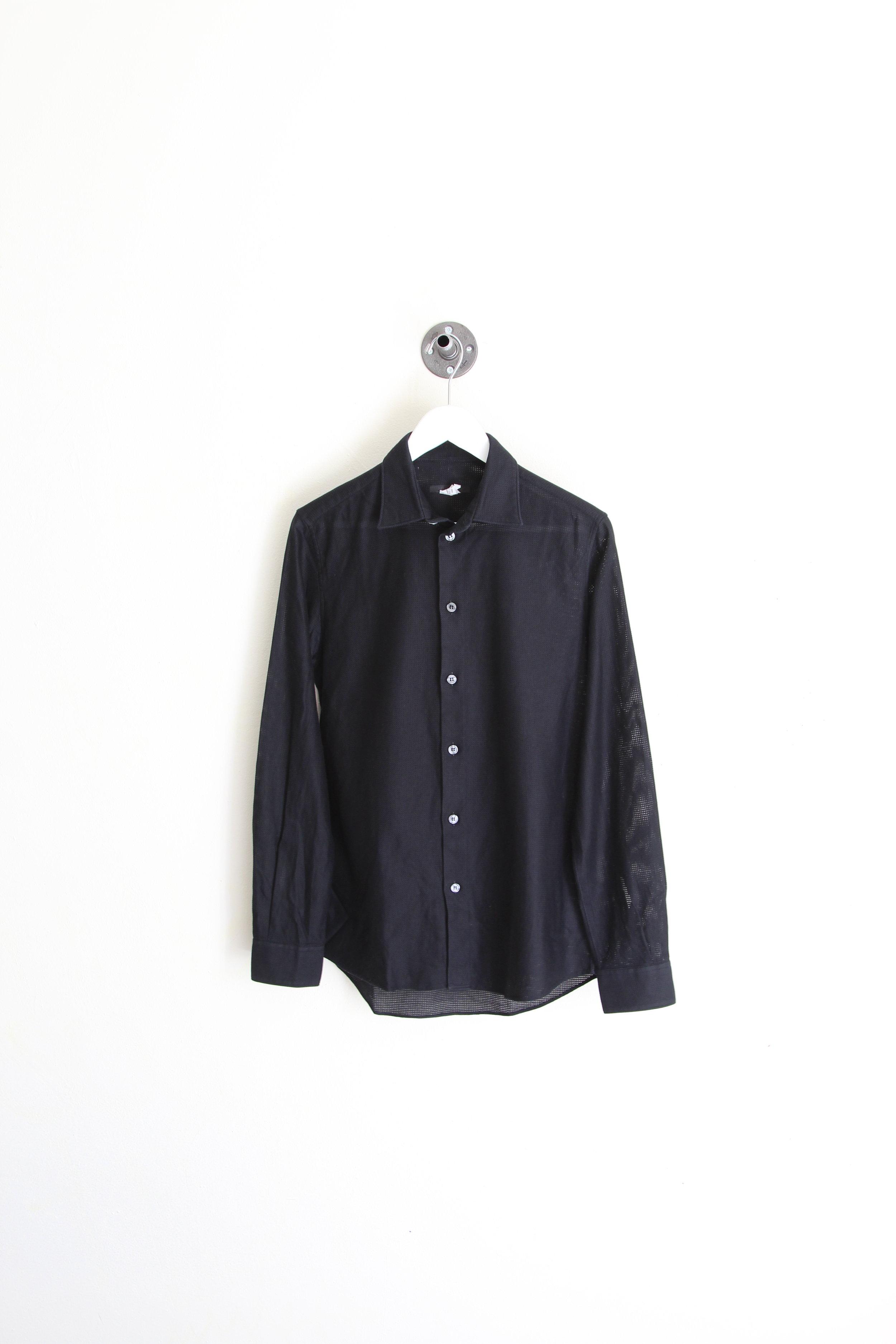 Helmut Lang SS 2005 Tech Mesh Long Sleeve Shirt
