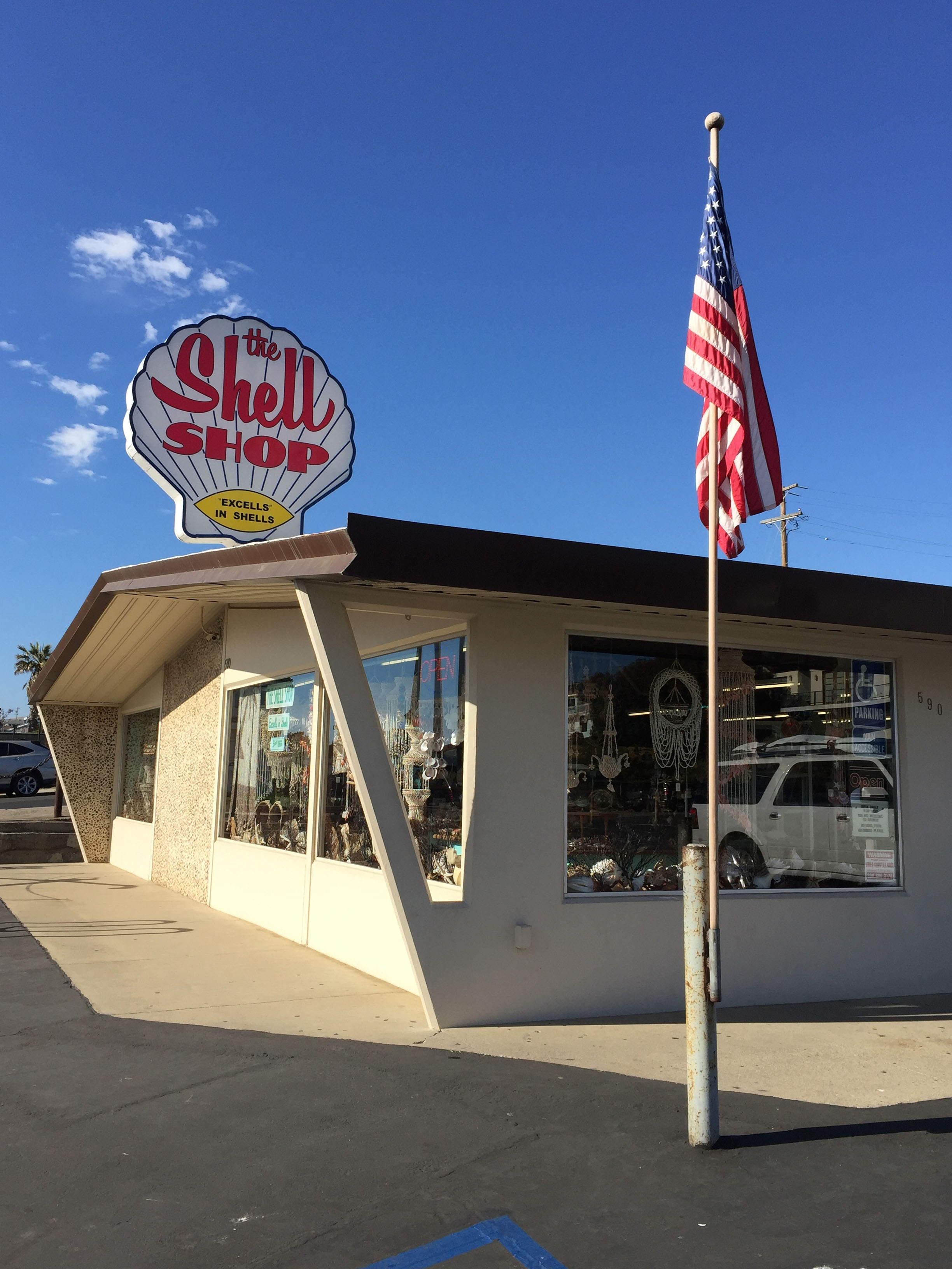 'The Shell Shop' Morro Bay, California.