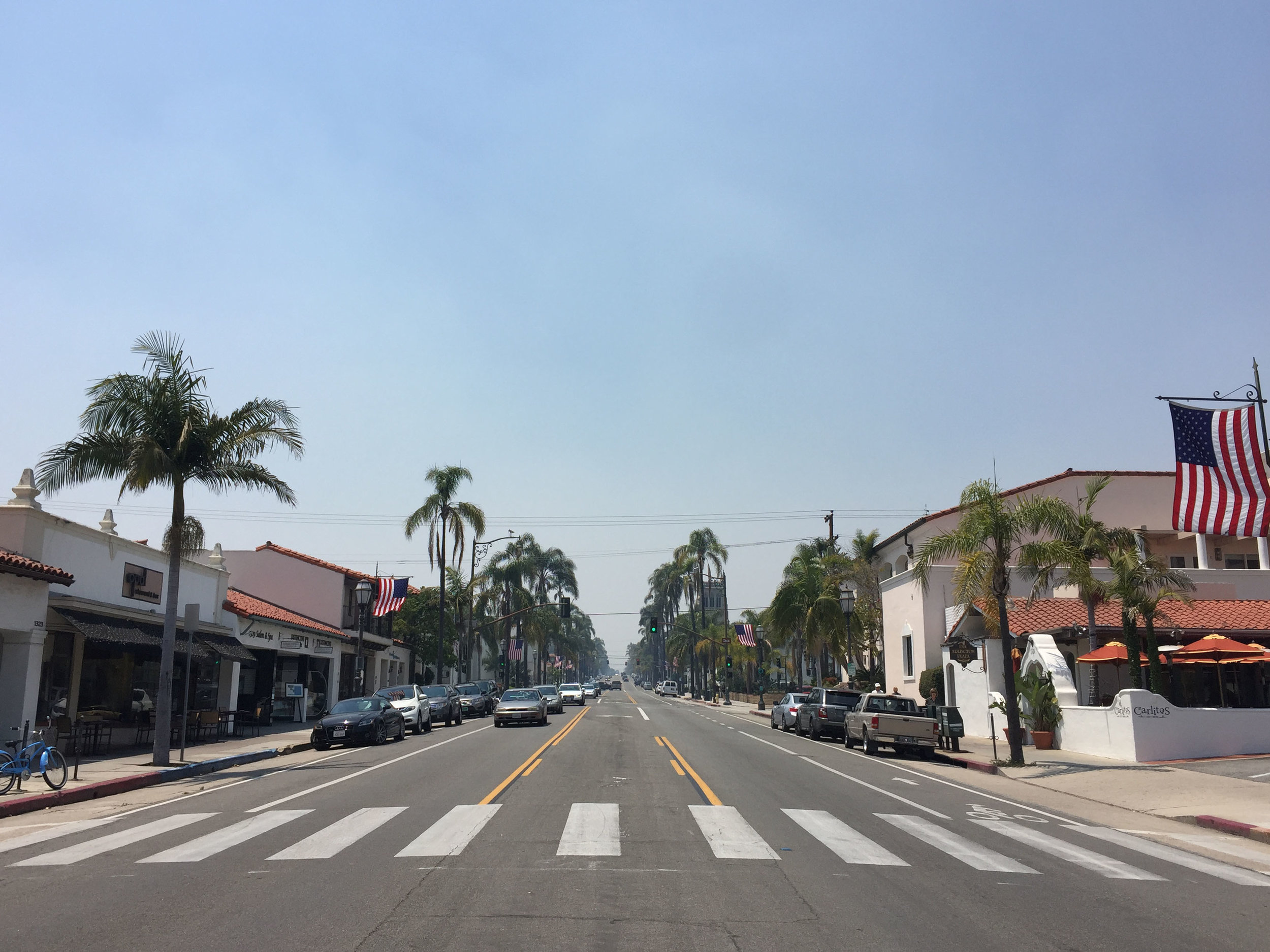 'State Street'Santa Barbara, California, 2016.