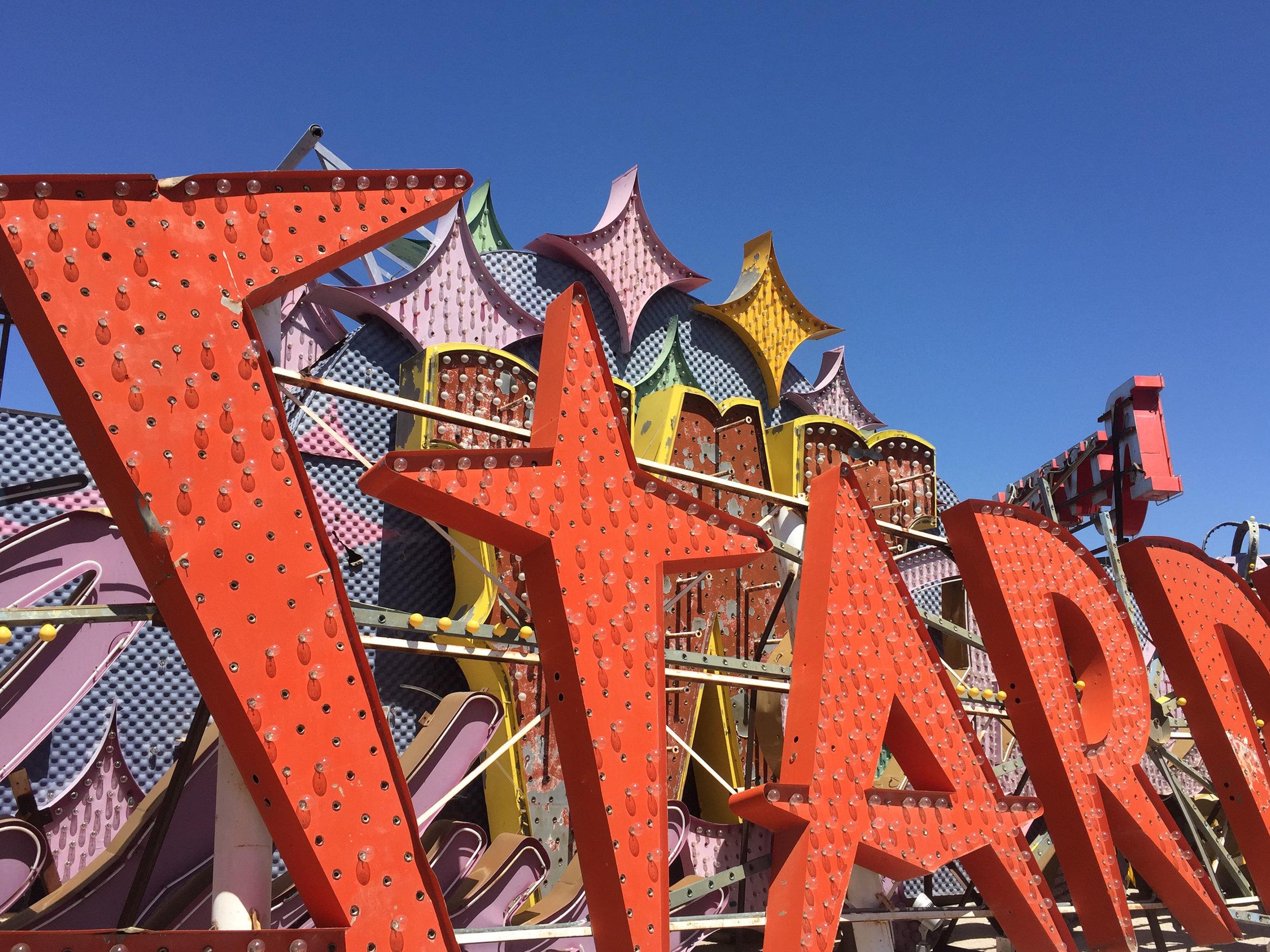 'Stardust' Las Vegas, Nevada, 2016.