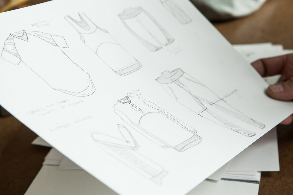 CONCEPT DESIGN - Original designs encompassing classic work wear, vintage sportswear, and elevated street wear makes each garment a piece of art.
