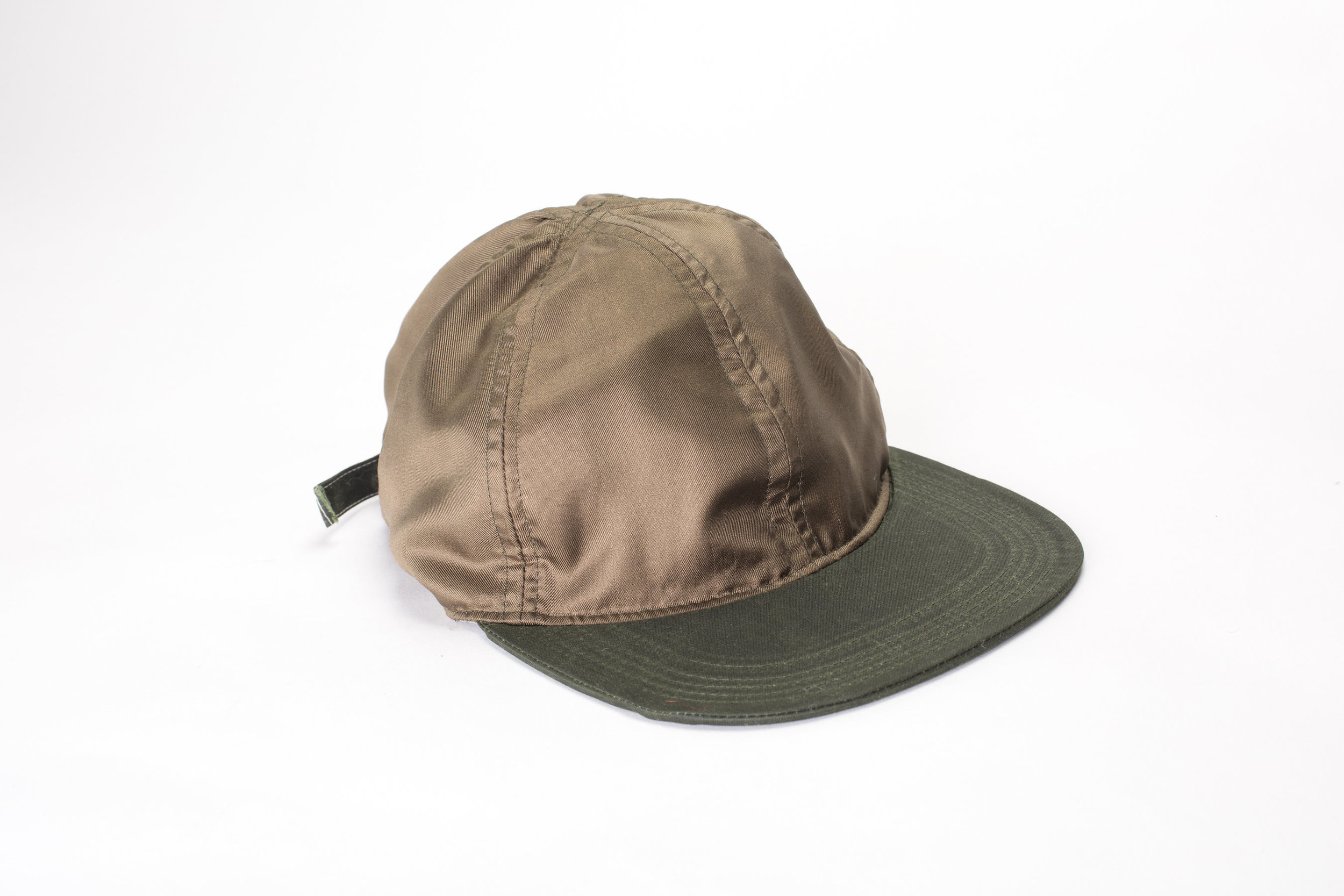 Silk 6 Panel/Waxed Cotton Brim