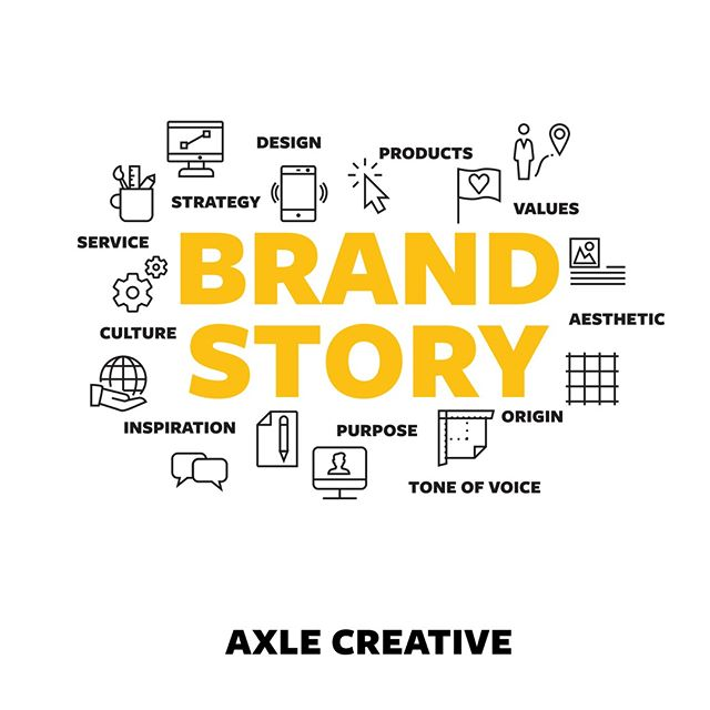 Your brand story comes from the heart and soul of your business. It starts with your company's culture and values, and is an expression of the things that make your products and services different to anyone else. Your logo, your marketing, your physical environment, your customer service – these are are tools used to tell your story and shape the way your brand is projected and shared. Ultimately though, only one thing matters in your brand story: the value you give your customers and clients, and the way you empower and equip them for their goals through what you offer. They are the heroes of your brand story, not you.