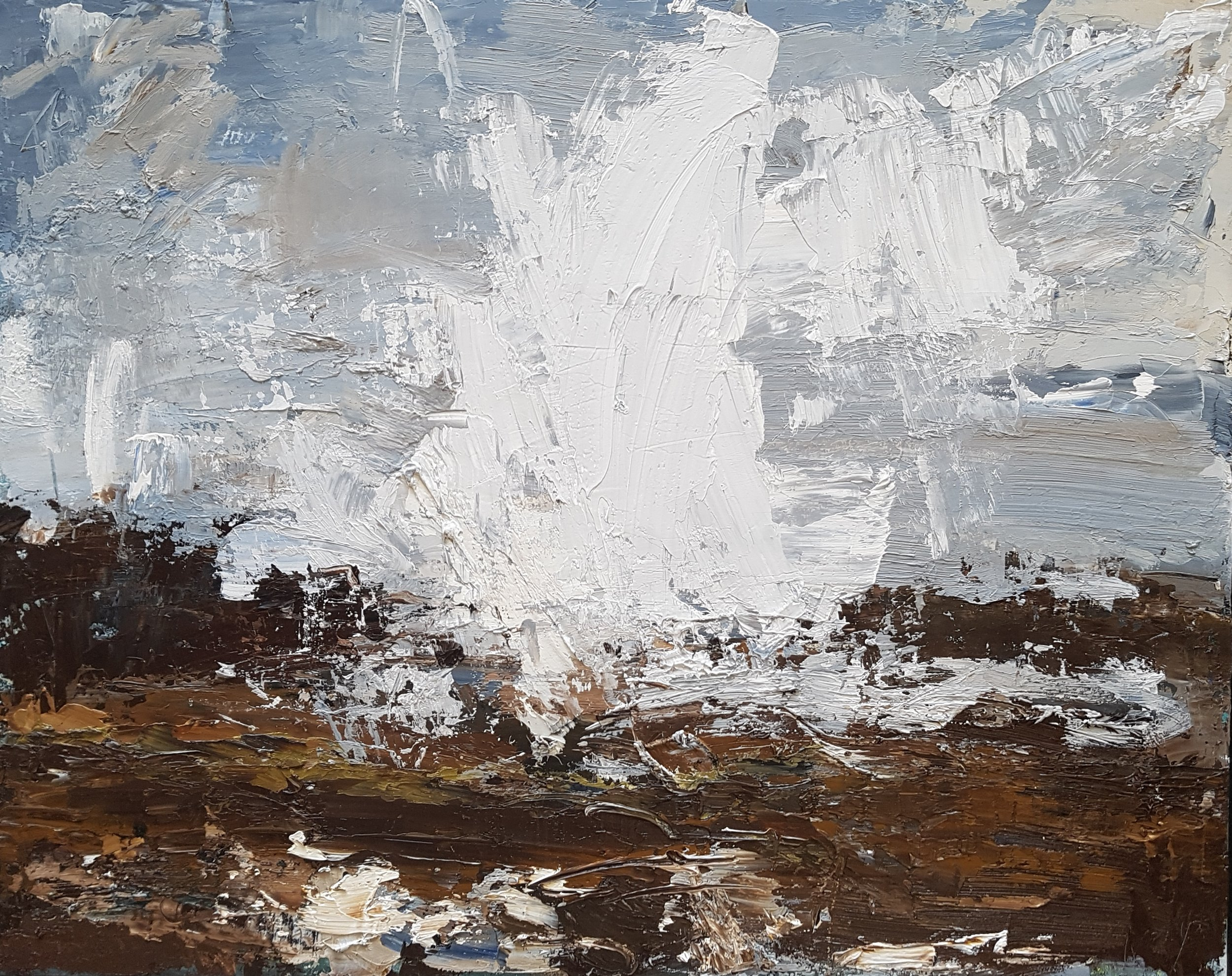 Winter Landscape II oil on board 40x50cm £795.jpg