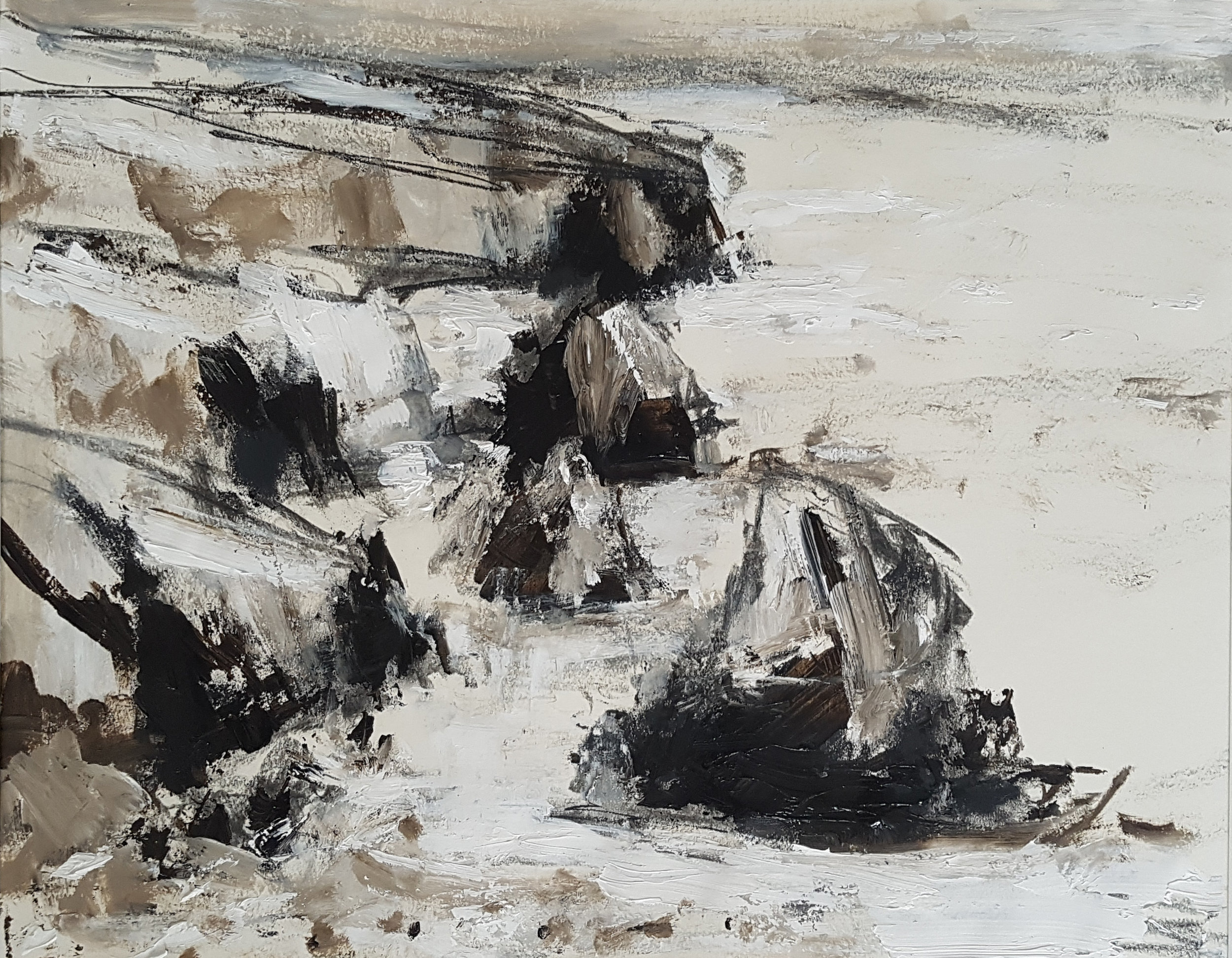Sketch of the Bedruthan steps 50x60cm mixed media on paper £725.jpg