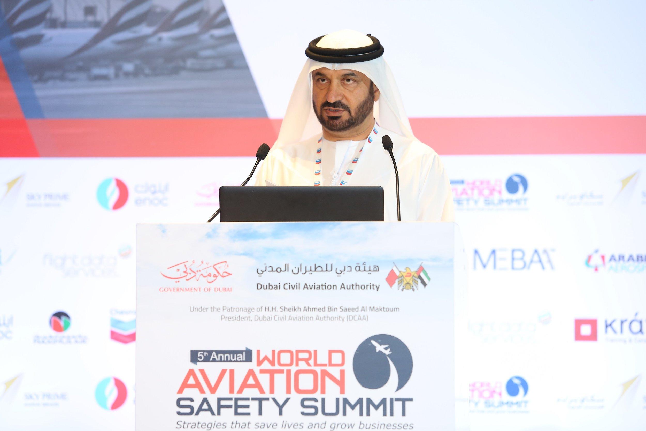 Khaled Al Arif, Executive Director Aviation Safety and Environment at DCAA.JPG