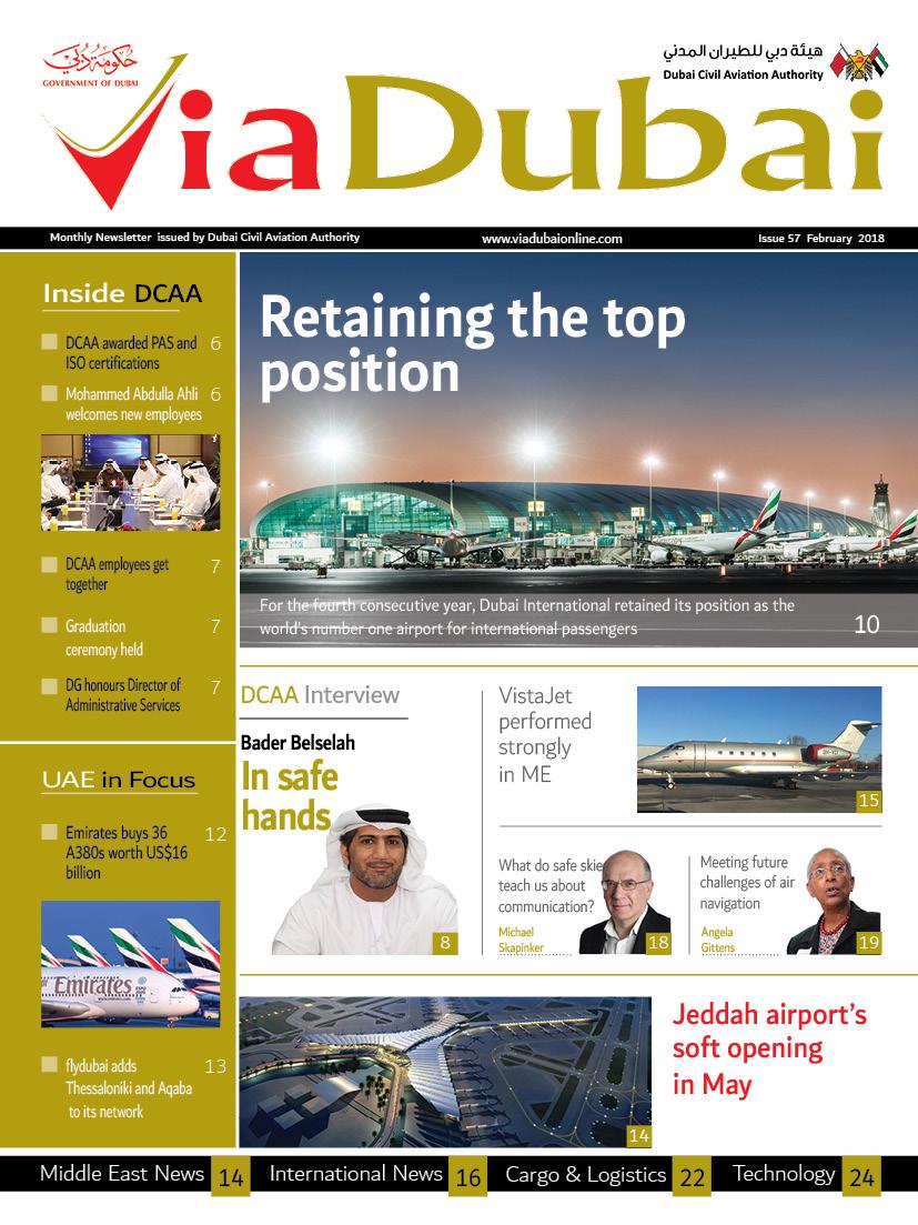 VIA DUBAI ENGLISH February 2018