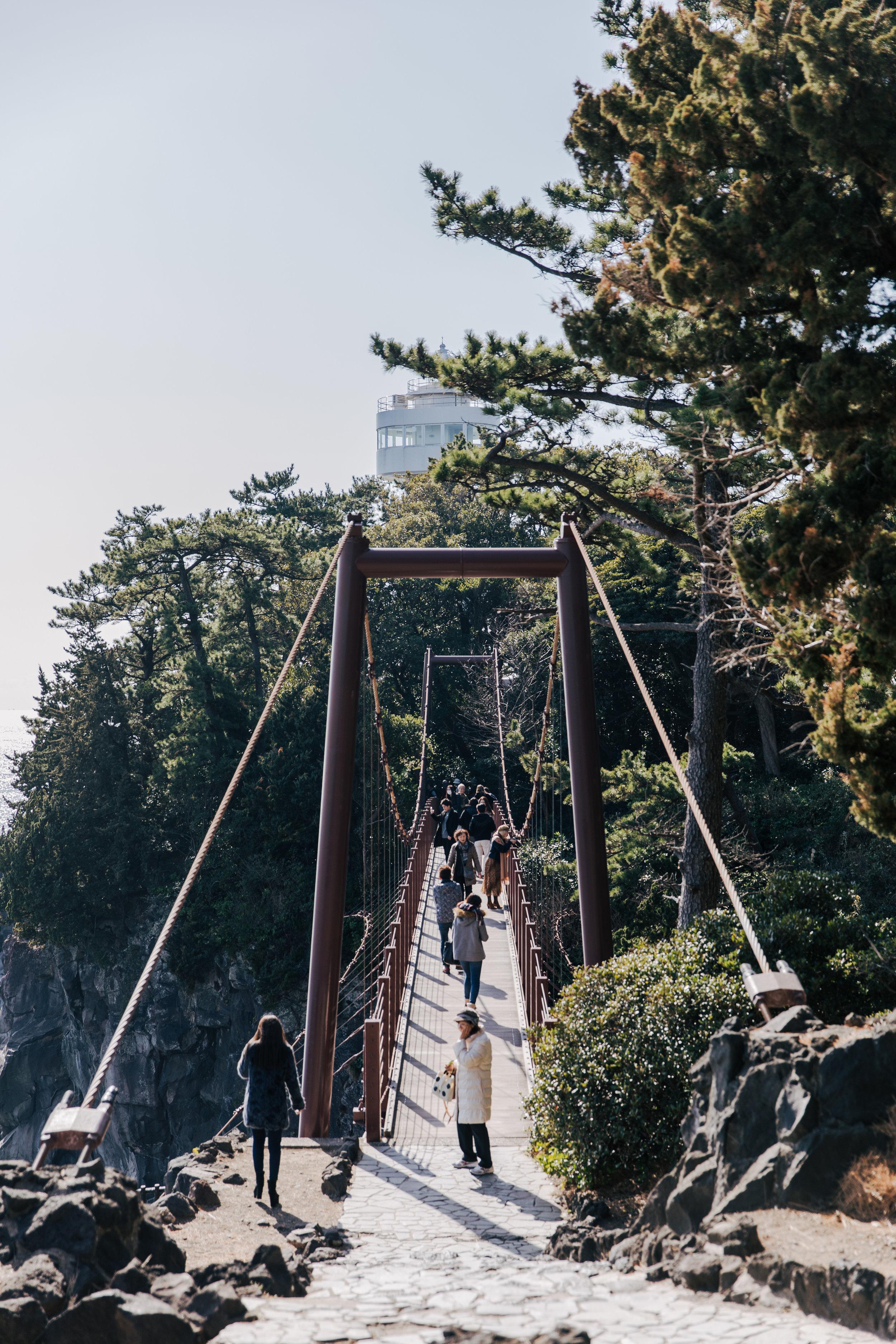 Kadowakizaki Suspension Bridge