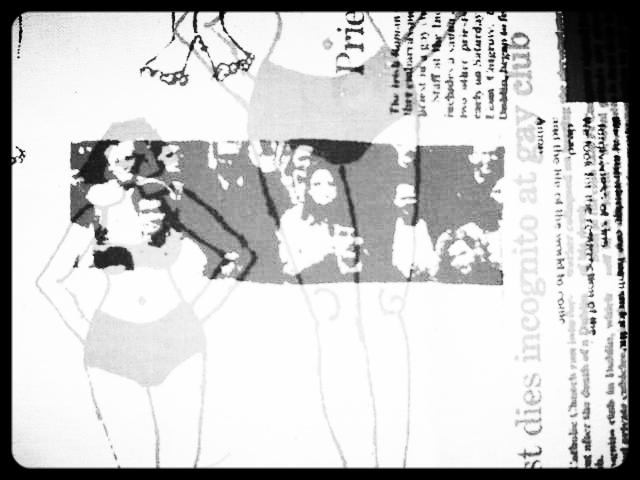 Cloth print 'Dies in Gay club%22.JPG