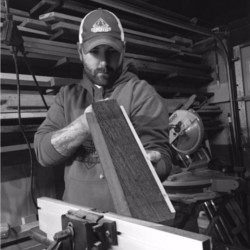 Steve Yopp   Steve Yopp owns a small woodworking company in Bristol CT. He has been in business since 2015 selling handcrafted cutting boards and other home decor. His addiction to woodworking blossomed from a simple gifted tool given to him by his wife and has since grown exponentially. Steve makes all his products out of his garage-based shop that he annexed from his house.   Website  |  Instagram