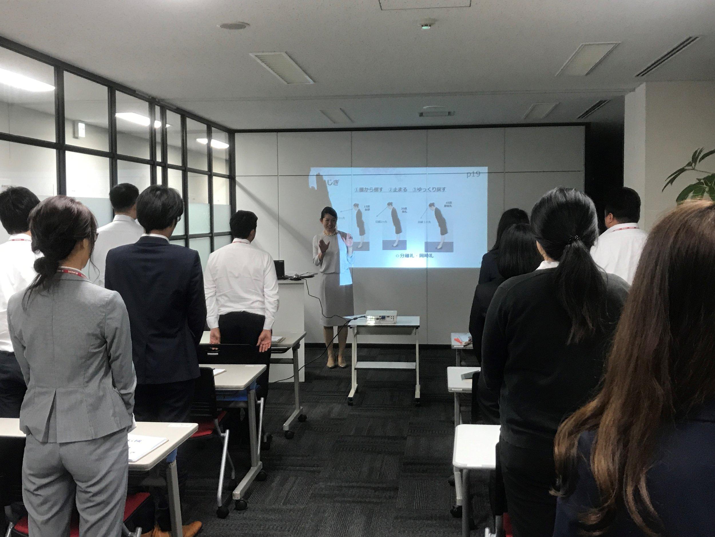 Yoko Kuroda giving a G-ken seminar