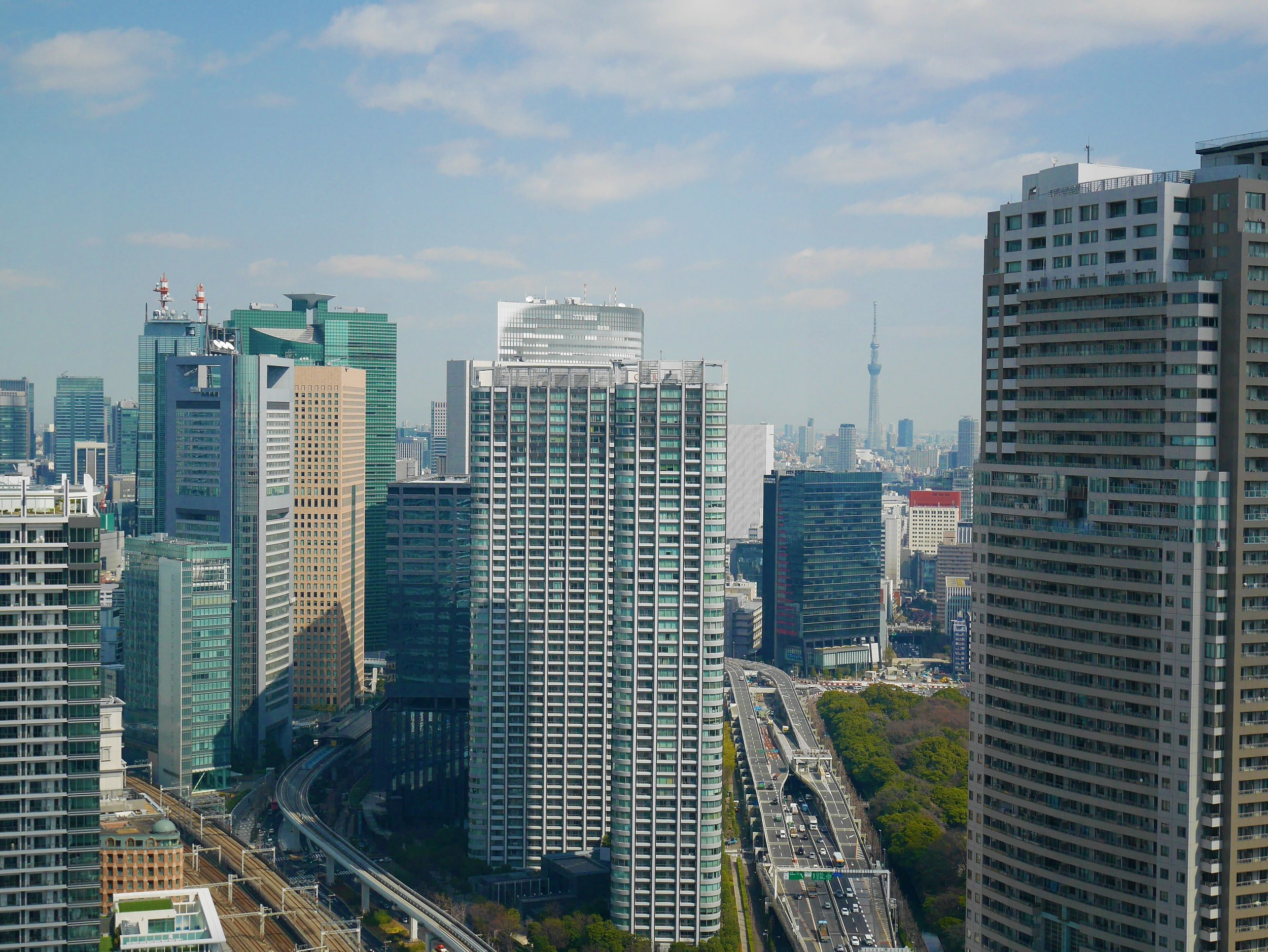 Tokyo's vast infrastructure network awaits an influx of visitors for the 2020 Olympic Games.