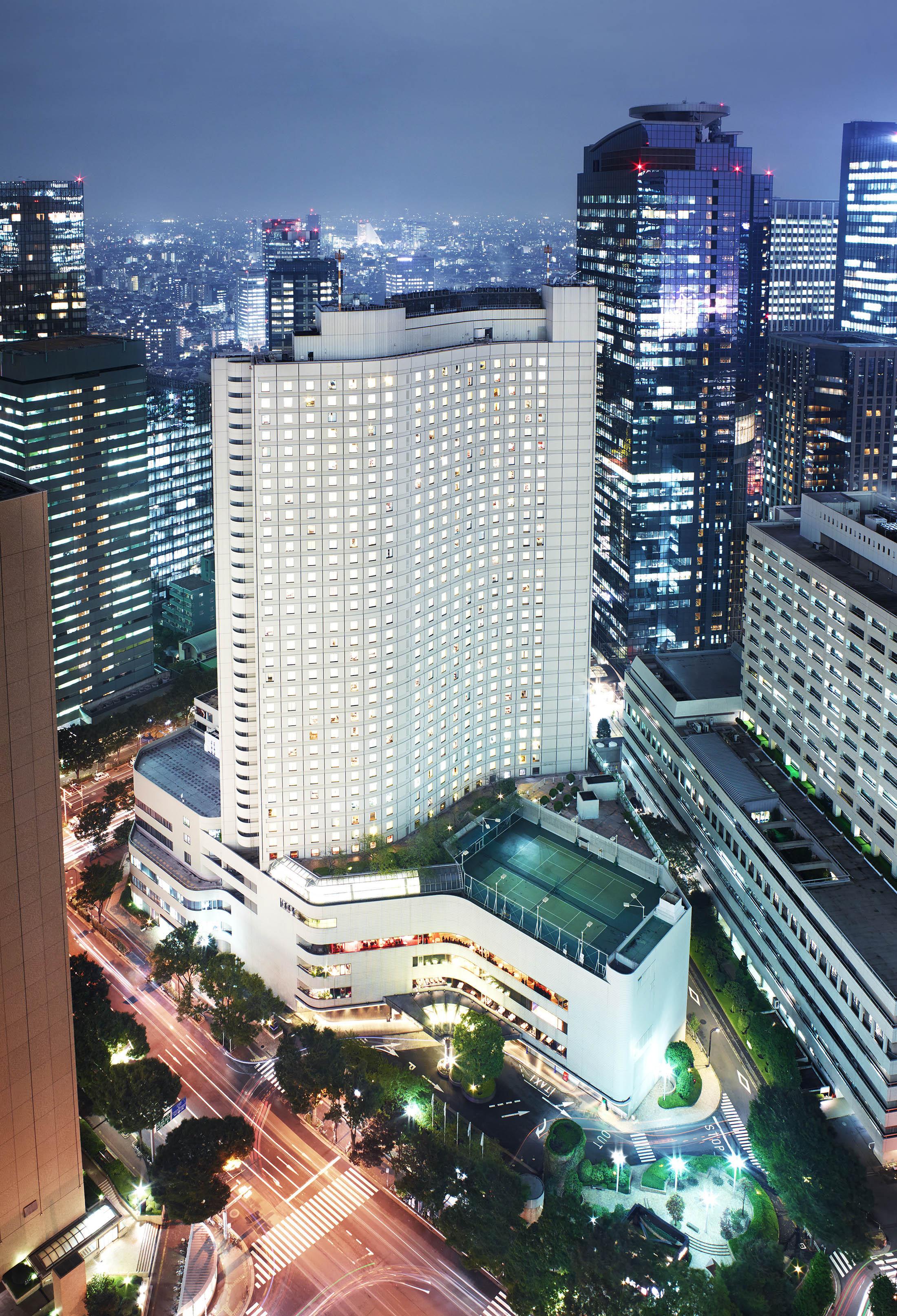 Hilton Tokyo, a Nishi-shinjuku icon