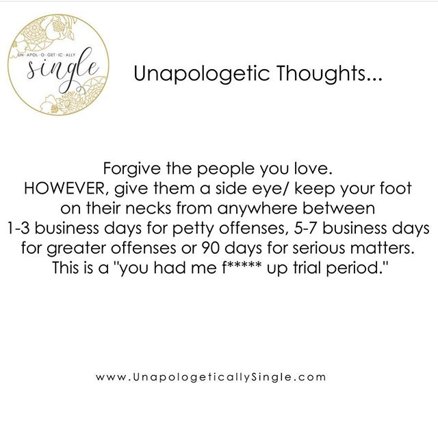 🌻#FBF advice just in case you forgot 😉☺️😂. Trial periods aren't just for overpriced apps. Happy Friday. . . 🌻www.UnapologeticallySingle.com🌻 . .  #selfcare #beyou #beyourself #melaninmagic #womenempowerment #happilysingle #selflove #atlanta #womenownedbusiness #explorepage #unapologetic #iambeautiful #love #friends #blackownedbusiness #curatedgifts #livingsingle #love #selflove #unapologeticallysingle #shopsmall #future #power #wecandothis #motivation #forgive #power #strength #jacksonville #justbreathe #love