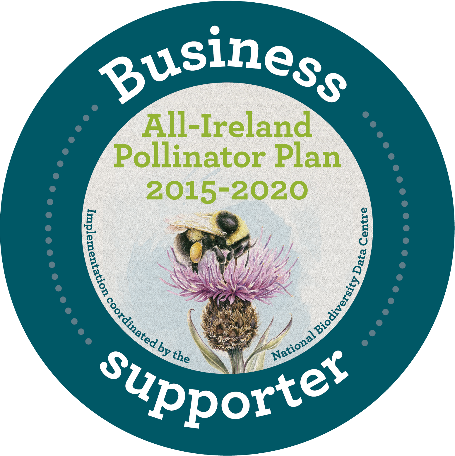 We are supporters of the All-Ireland Pollinator Plan to address pollinator decline and protect pollination services by implementing a number of positive initiatives to aid pollinators around our business.
