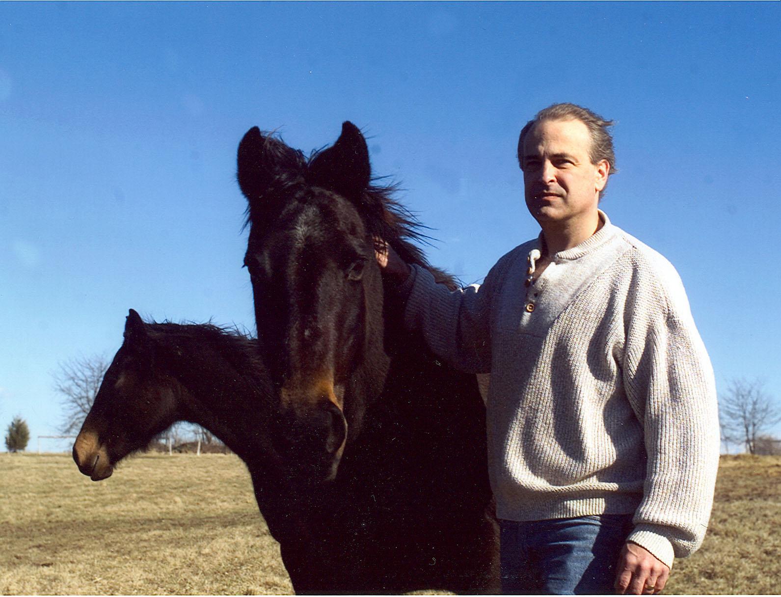 Greg&foals.jpg