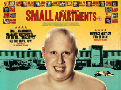 Watch the official  Sony Pictures trailer  for Small Apartments.