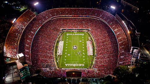 Auction Item #2 - 4 tickets with parking pass to theUGA v. Arkansas State game on 9/14