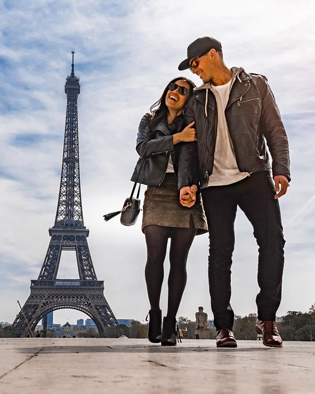 Holding her hand in public is just another way of saying you're proud to have her. . . . #madlove #itsshortliveit #parisparis #eiffeltower #cityoflove #parisfrance #paris🗼 #eiffeltower🗼 #visitparis #nyccouple #travelcouples #couplestyle #couplesofig #couplesofinstagram #seetheworld #europeadventure #eurotrip #handinhand #shesmine #adventurers