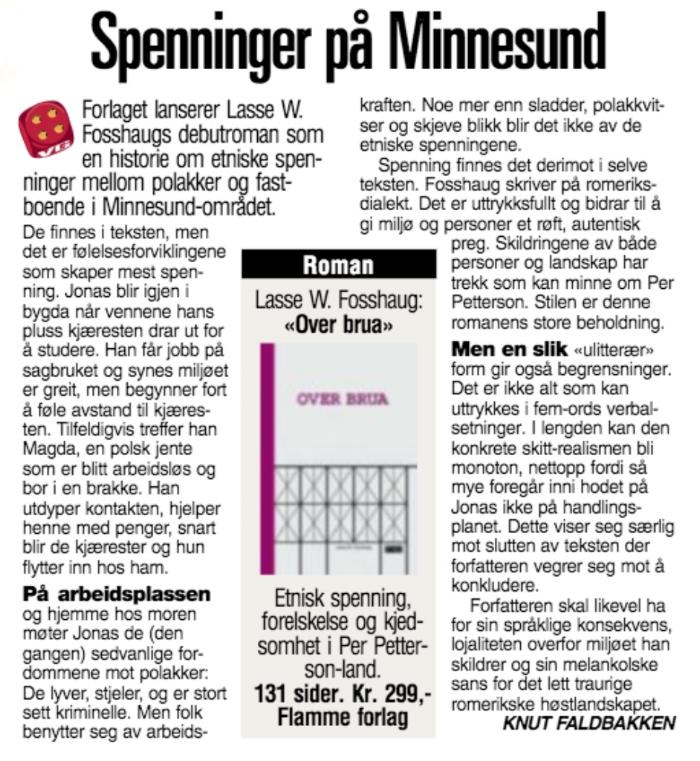 Faksimile VG 1. september 2013