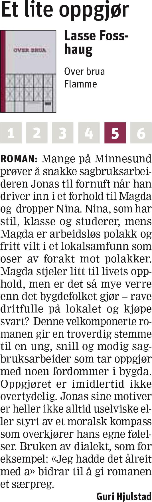 Faksimile Trønderavisa 23. august 2013
