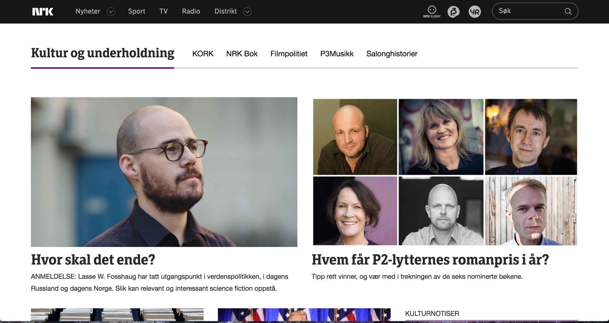 Leif Ekles anmeldelse på NRK.no - klikk på bildet for å lese.