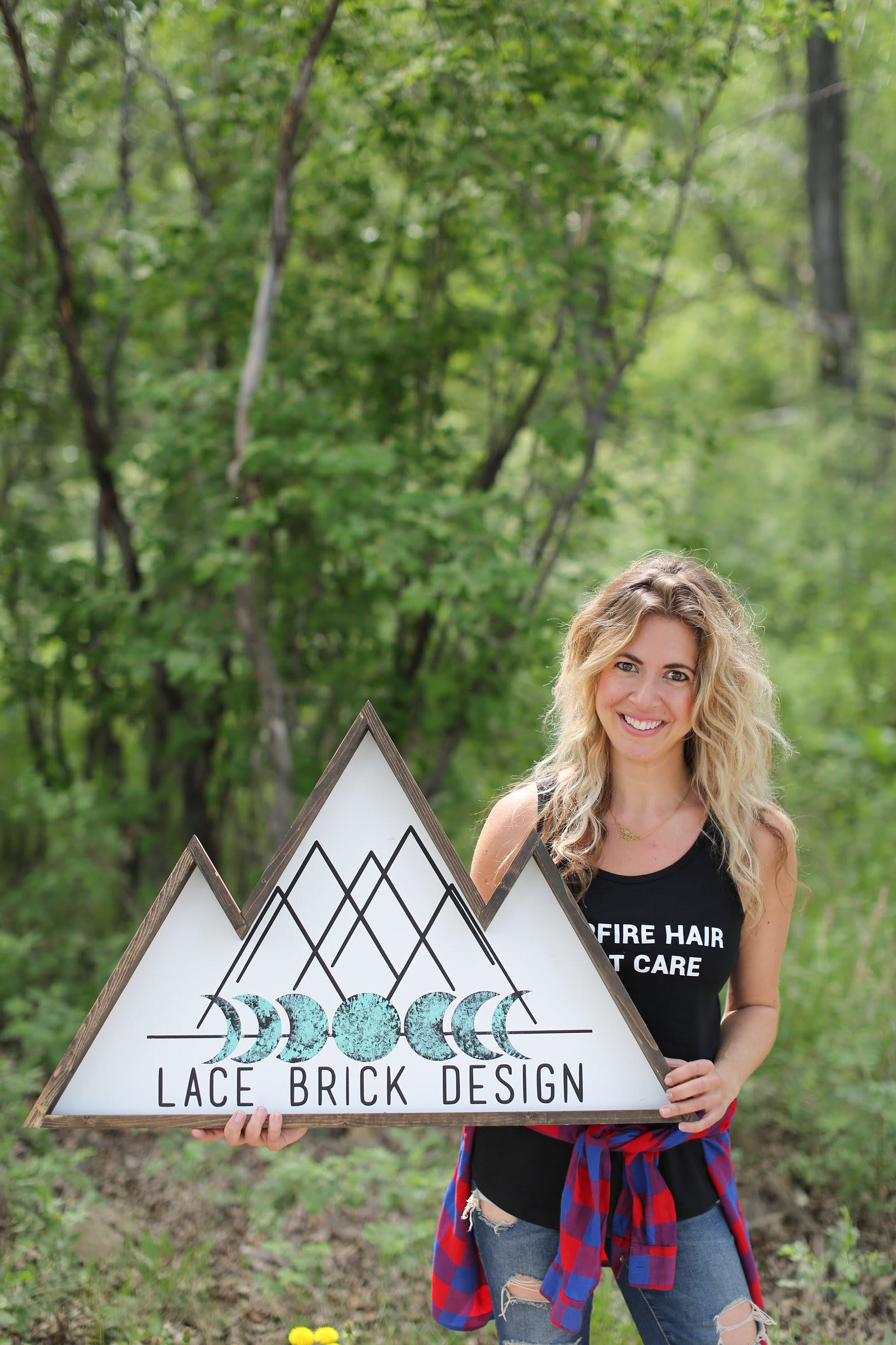 Jackie Chemelli - Lace Brick Design
