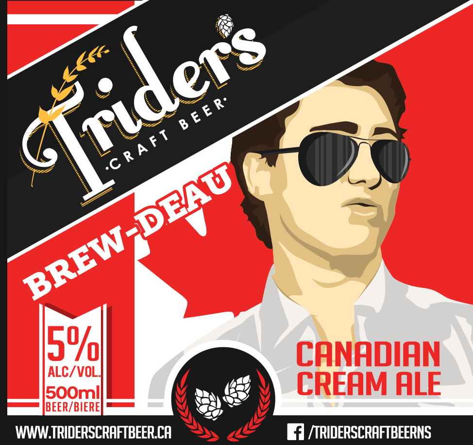 Brew-Deau - Is it the hair? The good looks? Family history? Nah, it's the beer! Let this devilishly handsome Canadian Cream Ale elbow it's way into your life today. With its incredibly smooth drinkability and straw colour, It's the perfect beer to celebrate our nation's 150th birthday.