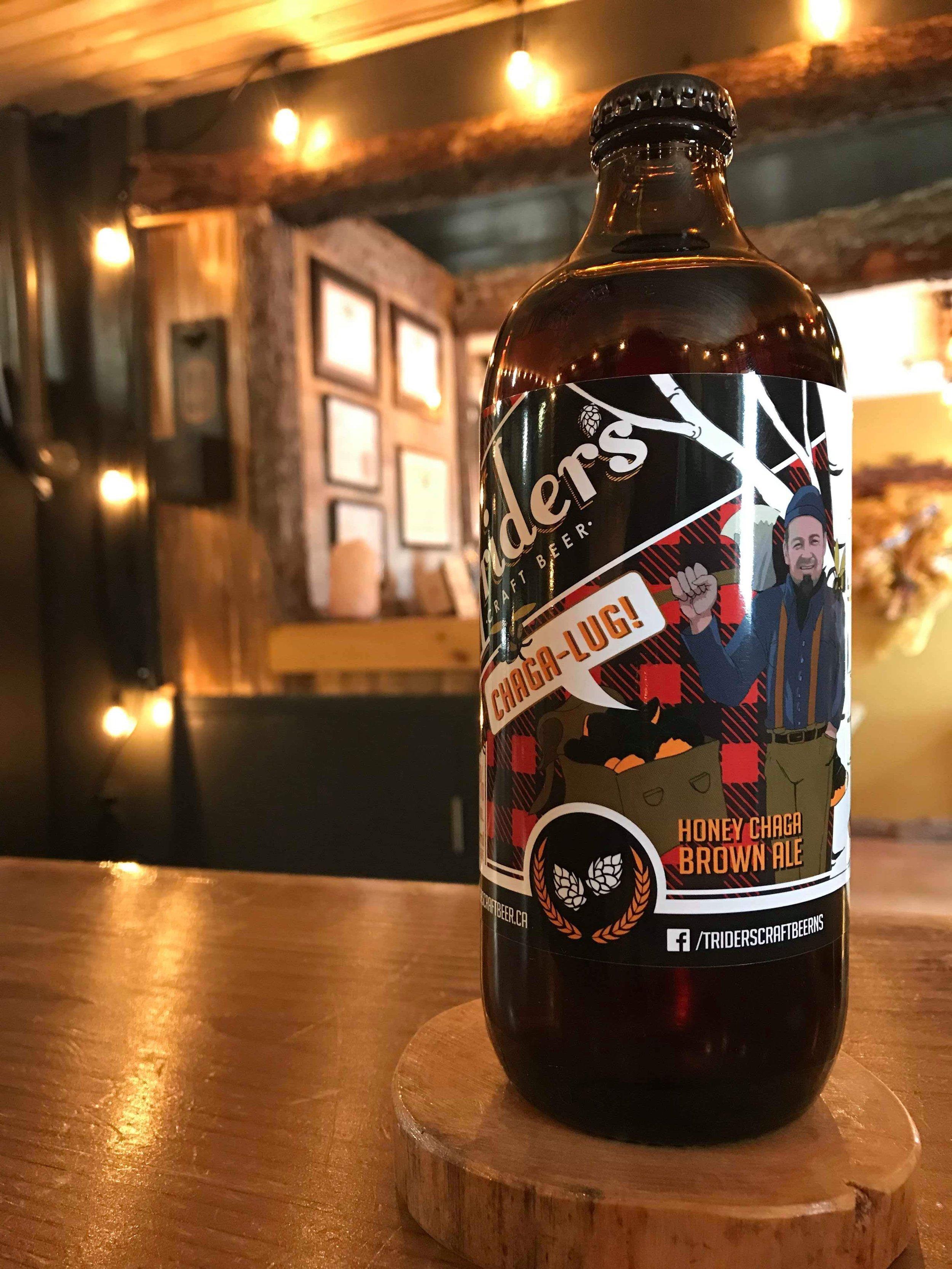 Chaga-Lug Honey Chaga Brown Ale