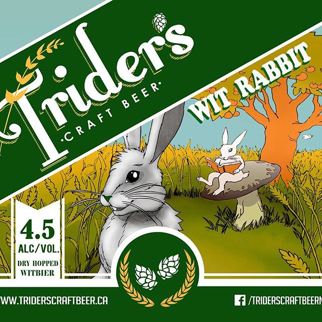 Wit Rabbit Dry Hopped Witbier