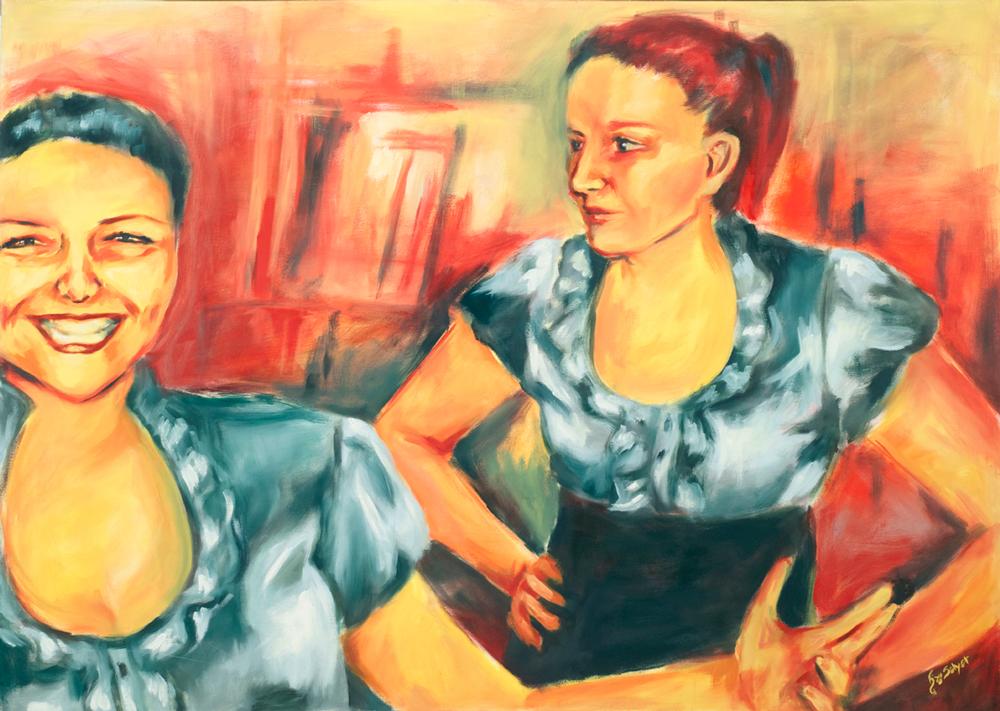 Alyssa and Taryn