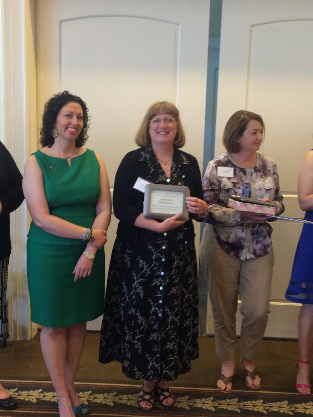 Cindy Gates Wood, WOTY 2016 Award