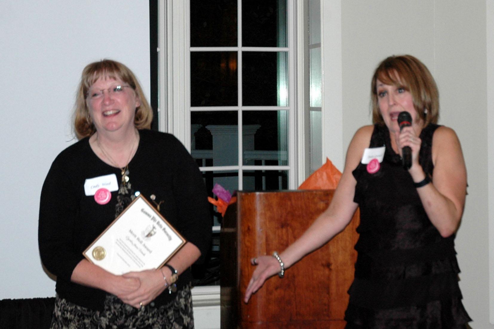 Merit Award: Cindy Gates Wood