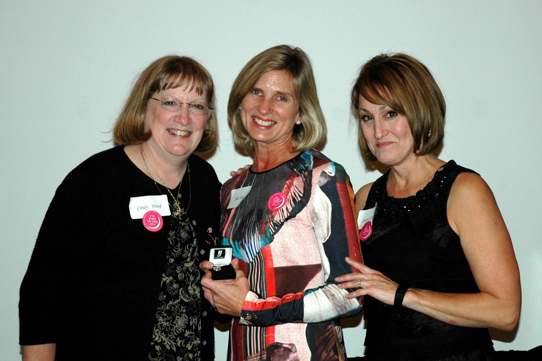 Woman of the Year: Julie Colebank Scott & Merit Award: Cindy Gates Wood