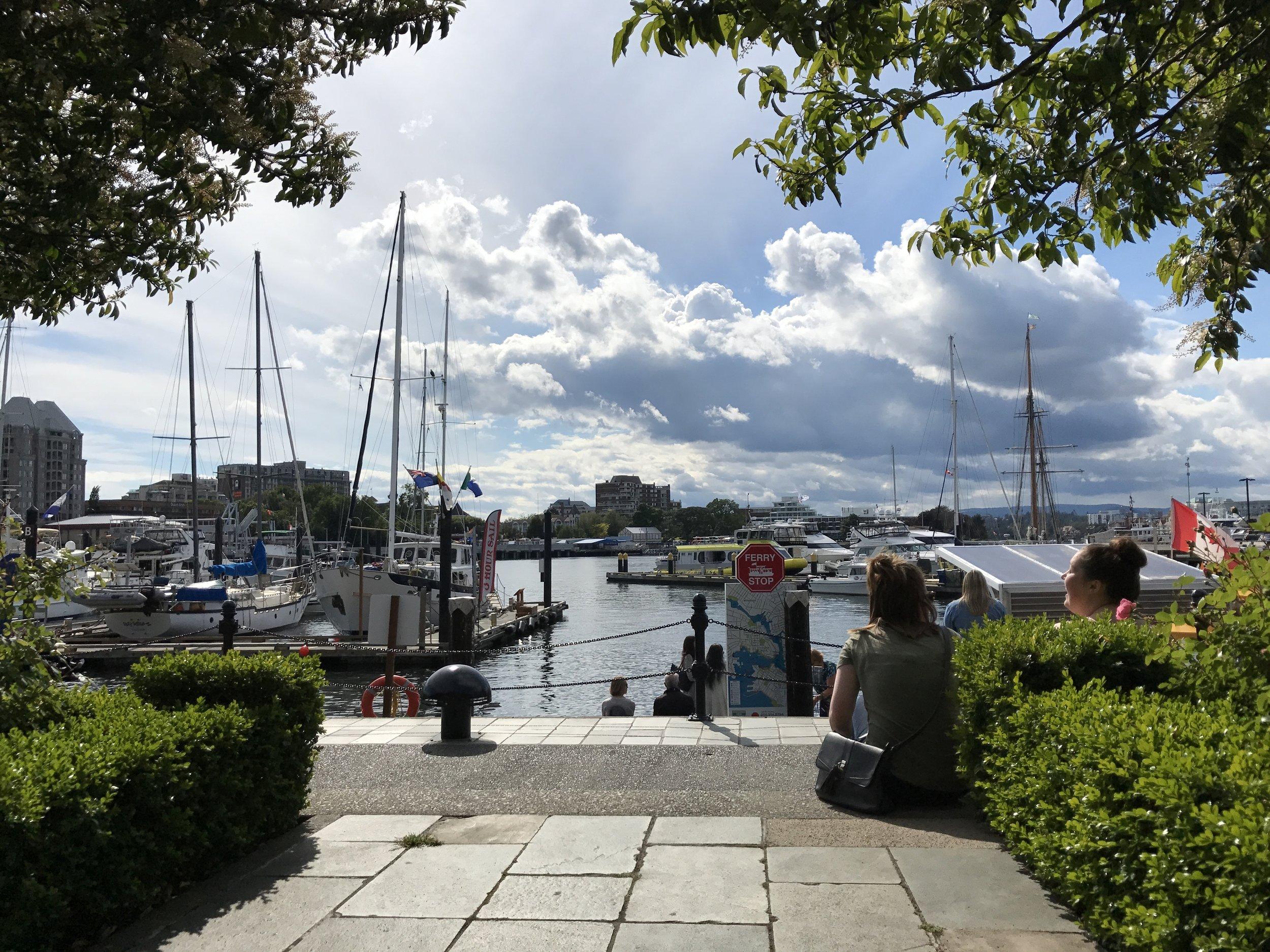 Inner Harbor, Victoria BC