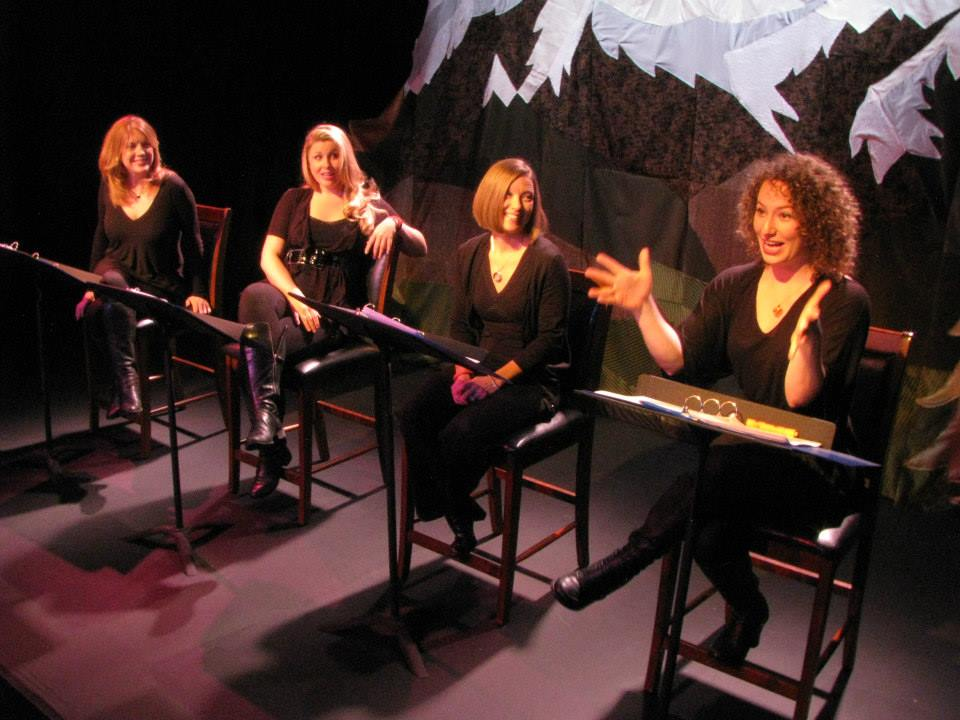 Curves Ahead (staged reading) / Breckenridge Theater