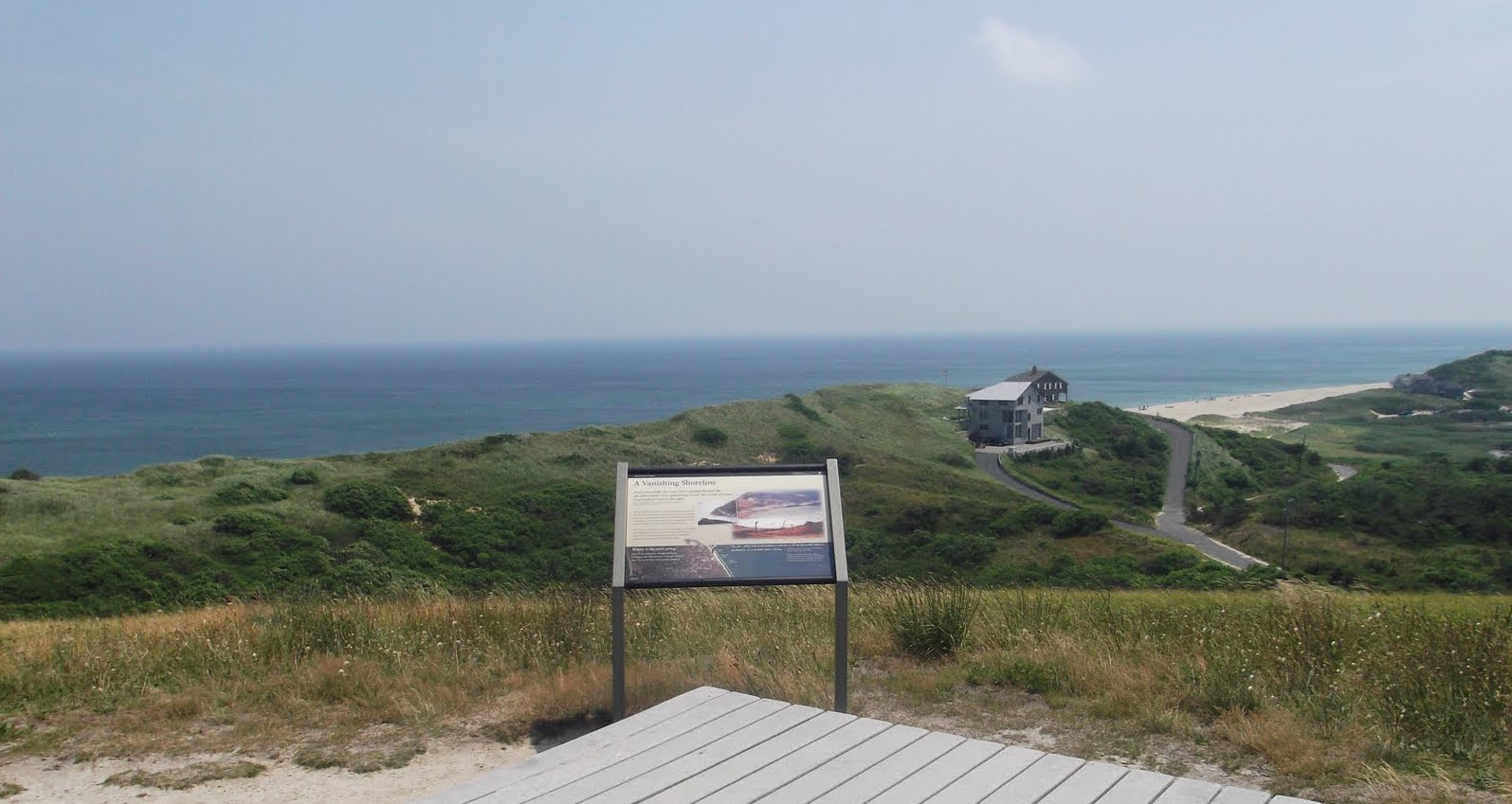 """The Cape Cod National Seashore was created   """"    to preserve the natural and historic values of a portion of Cape Cod for the inspiration and enjoyment of people all over the United States   ."""" (President John F. Kennedy when signing the bill into law.)"""