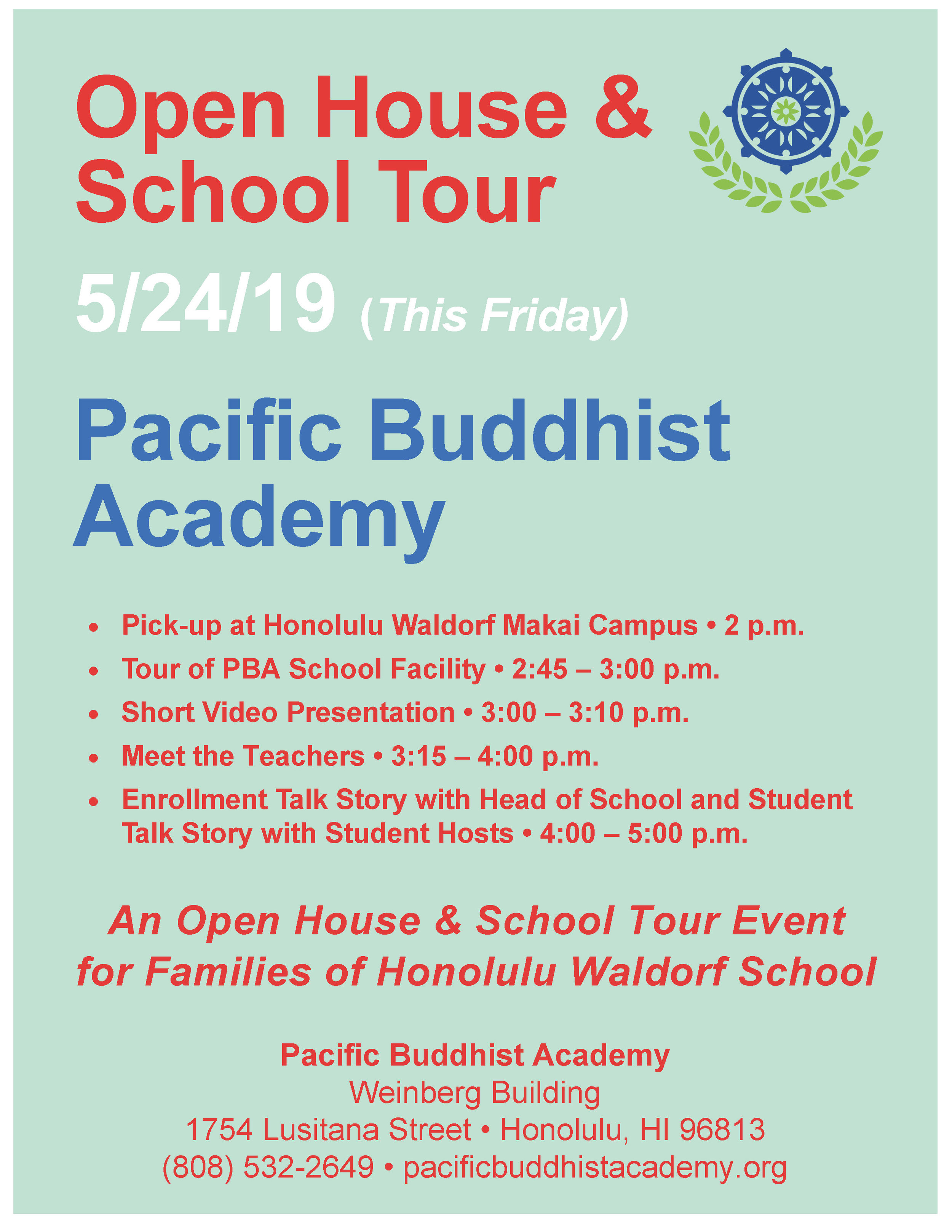 Pacific Buddhist Academy Open House Flyer.jpg