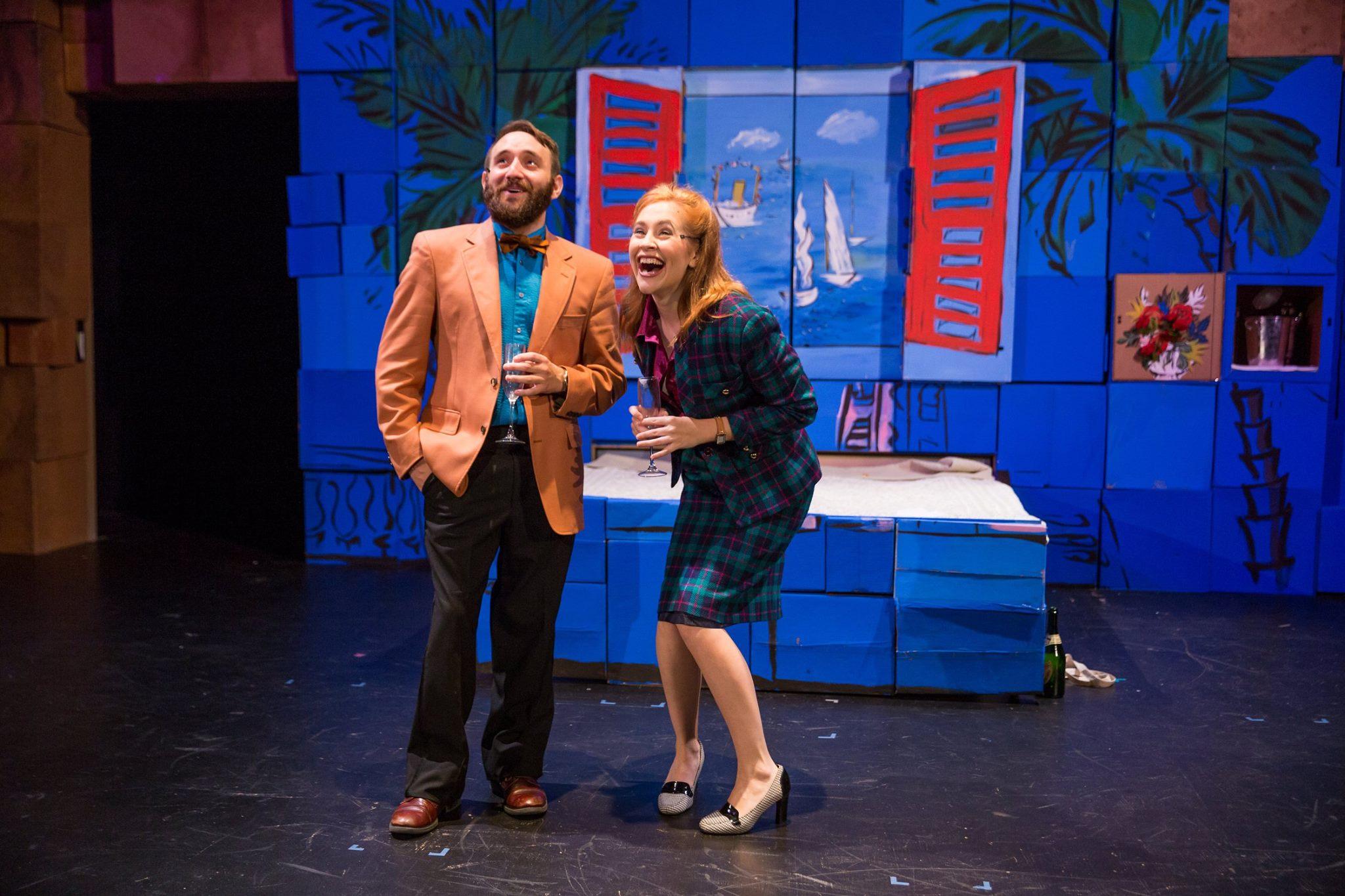 Lucky Stiff; Stoneham Theatre, Sept 2016