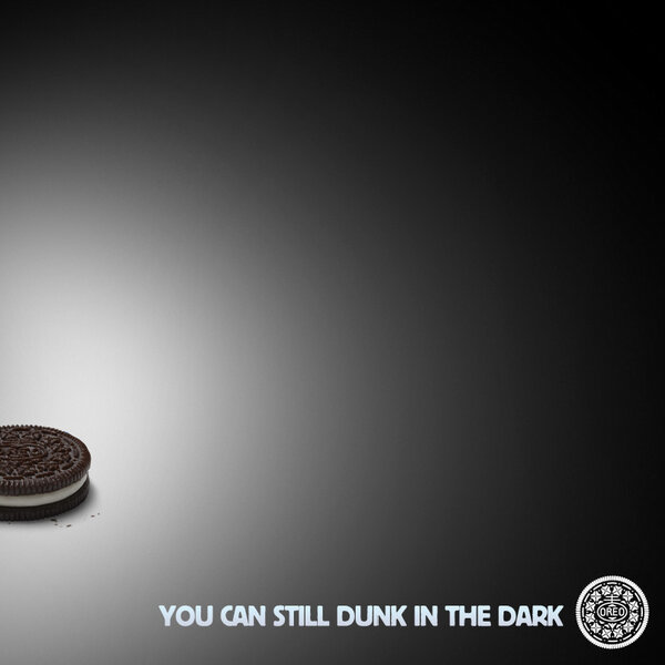 Oreo's brilliant and quick response  to the Superbowl blackout was retweeted over 10,000 within an hour.