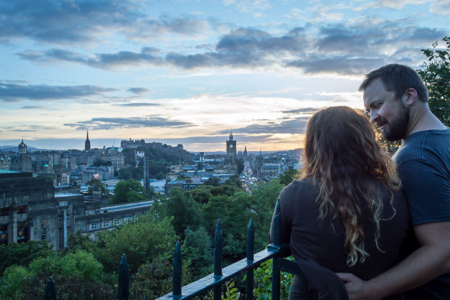 Where it all began: Edinburgh, Scotland.
