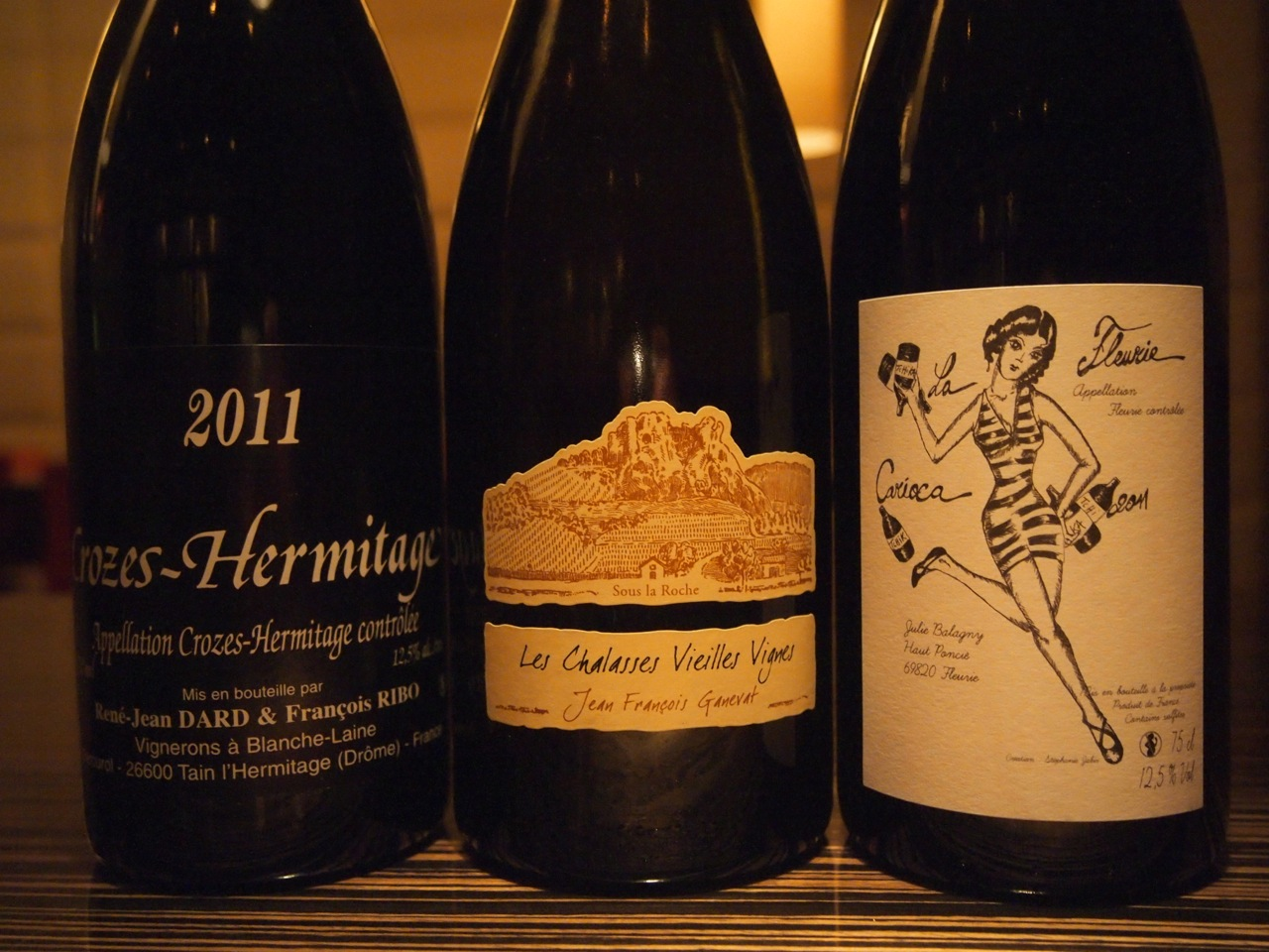 Some more or less natural wines that everyone could and should enjoy!